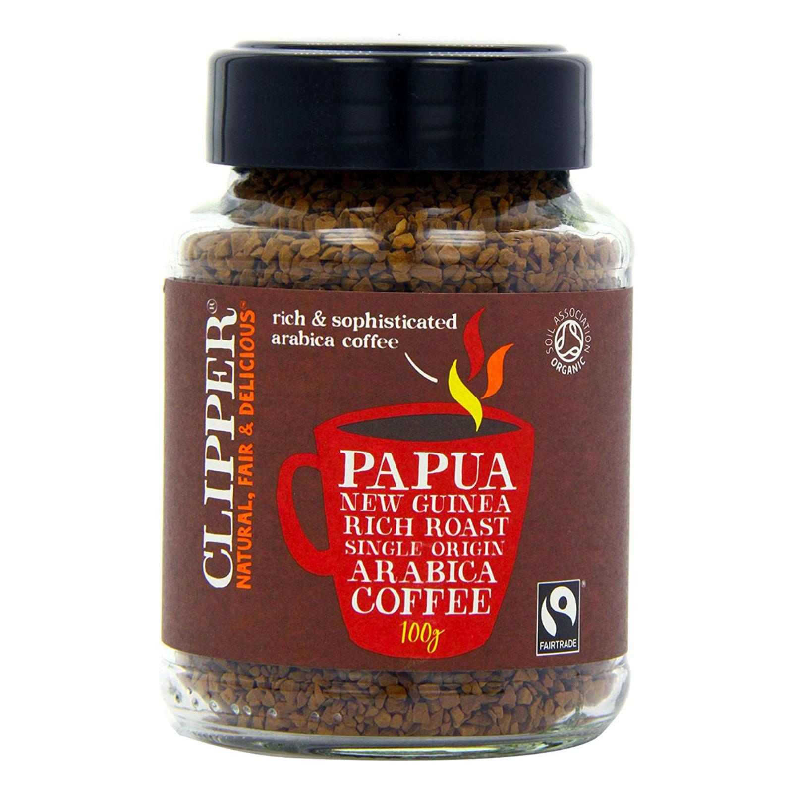Clipper Organic Instant Coffee - Papua New Guinea