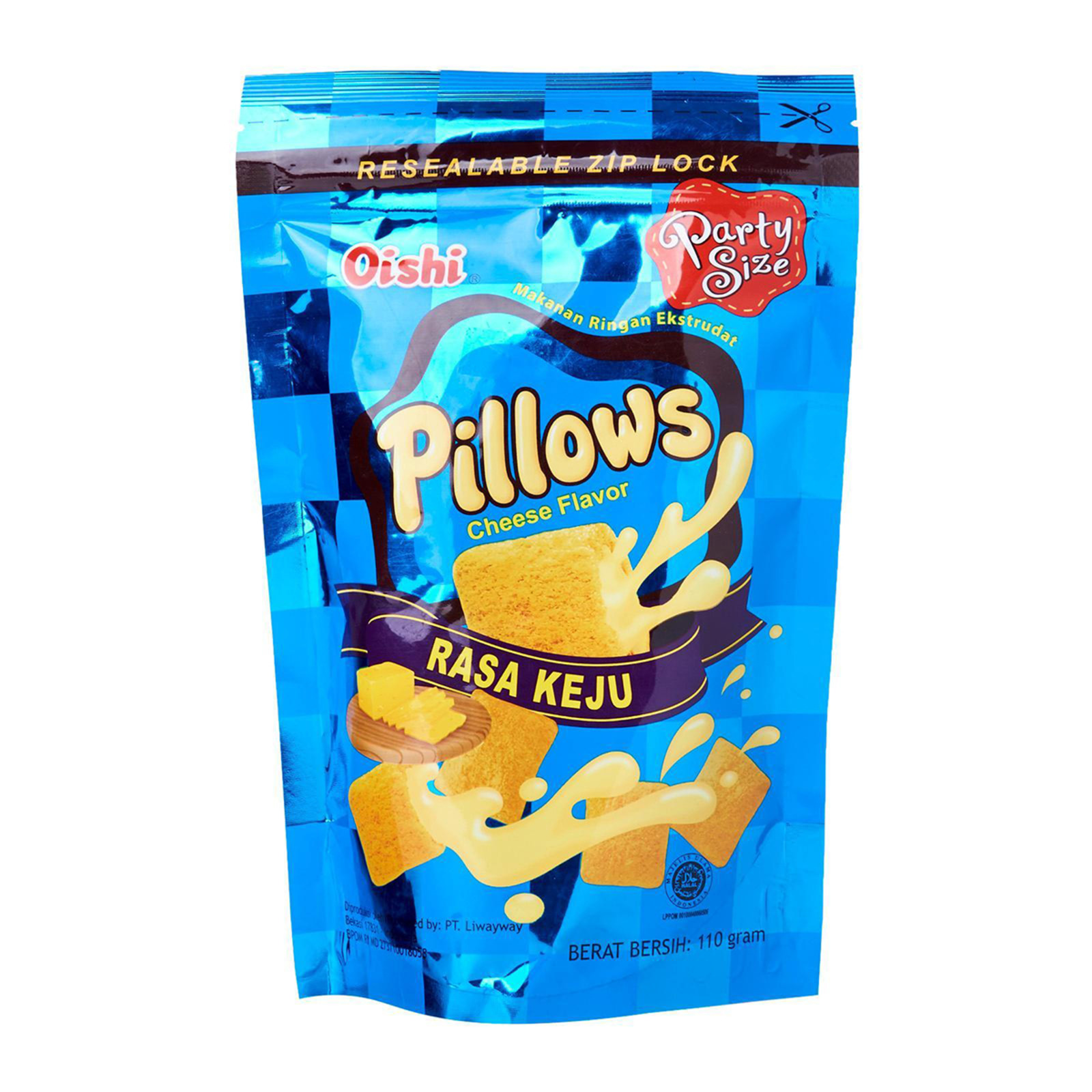 Oishi Pillows Party Size - Cheese
