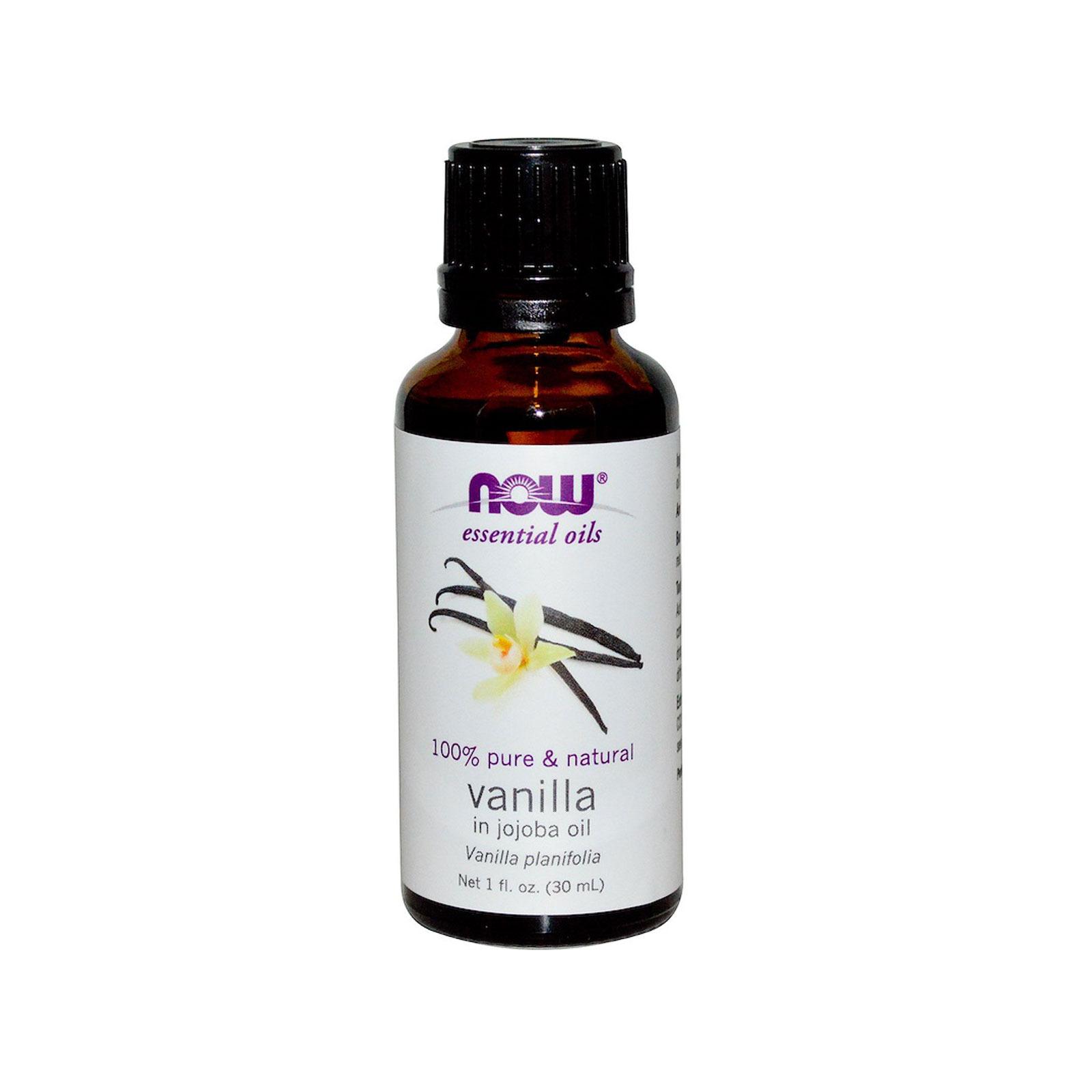 Now Foods Essential Oils - Vanilla In Jojoba Oil