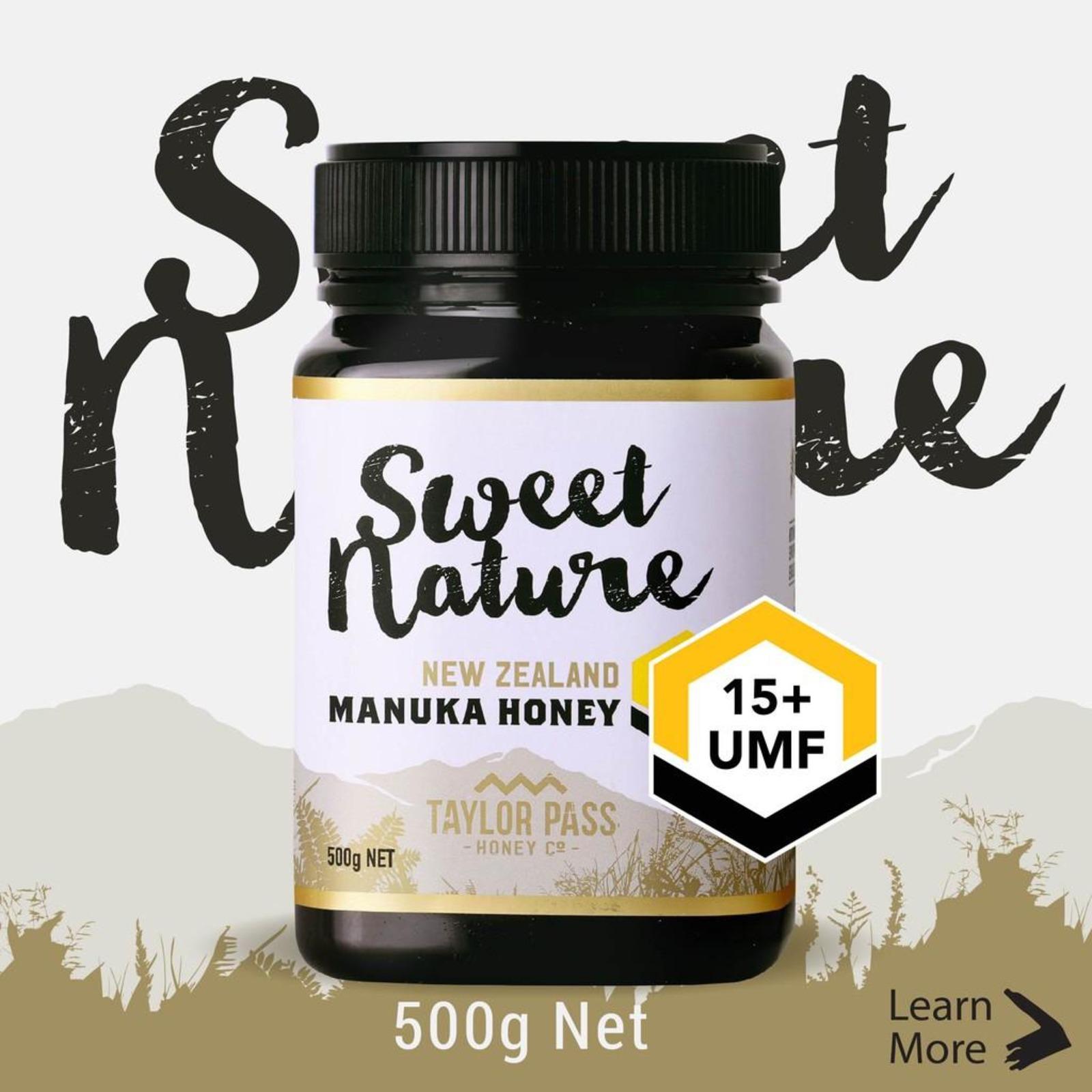Sweet Nature UMF 15+ Manuka Honey