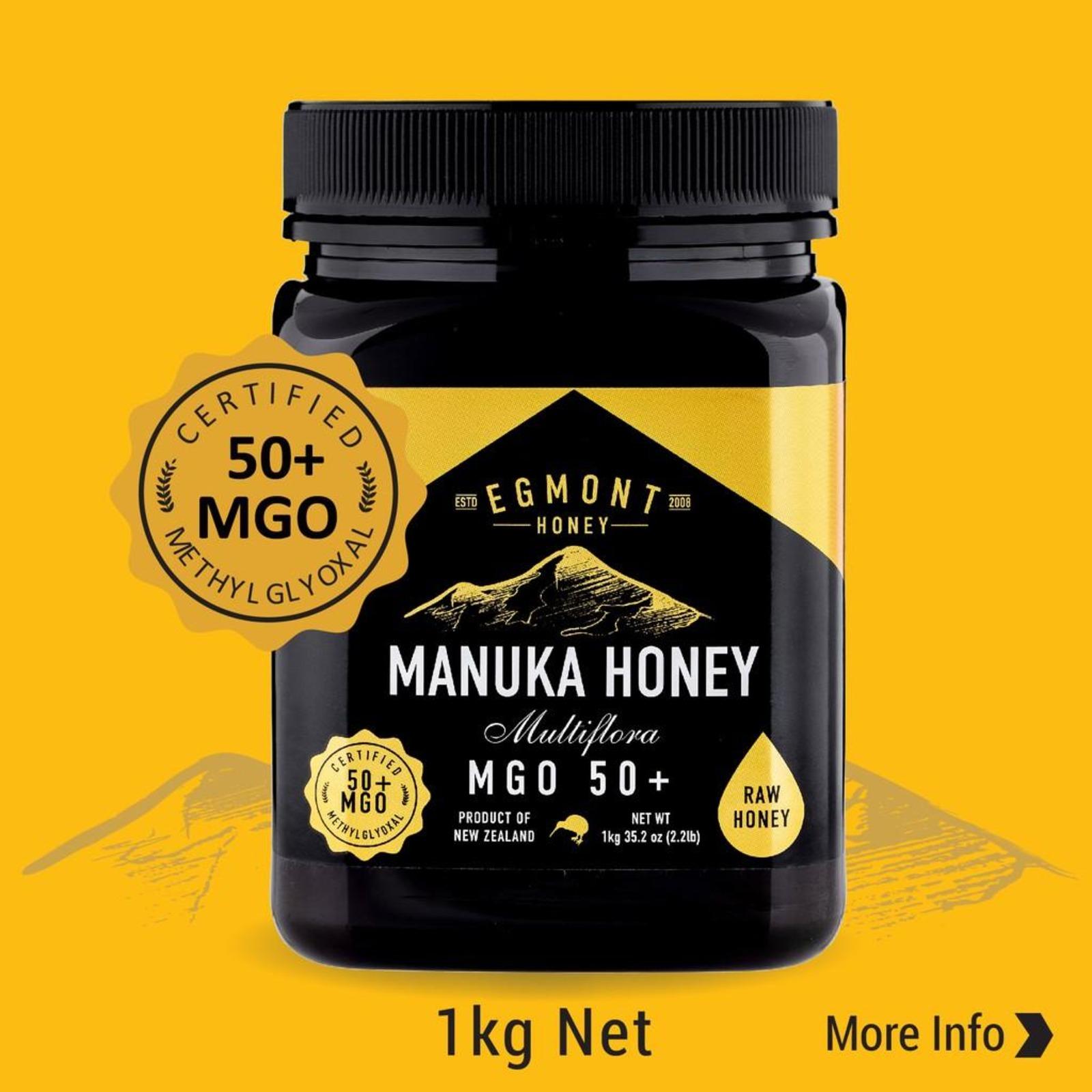 Egmont MGO 50+ Manuka Honey