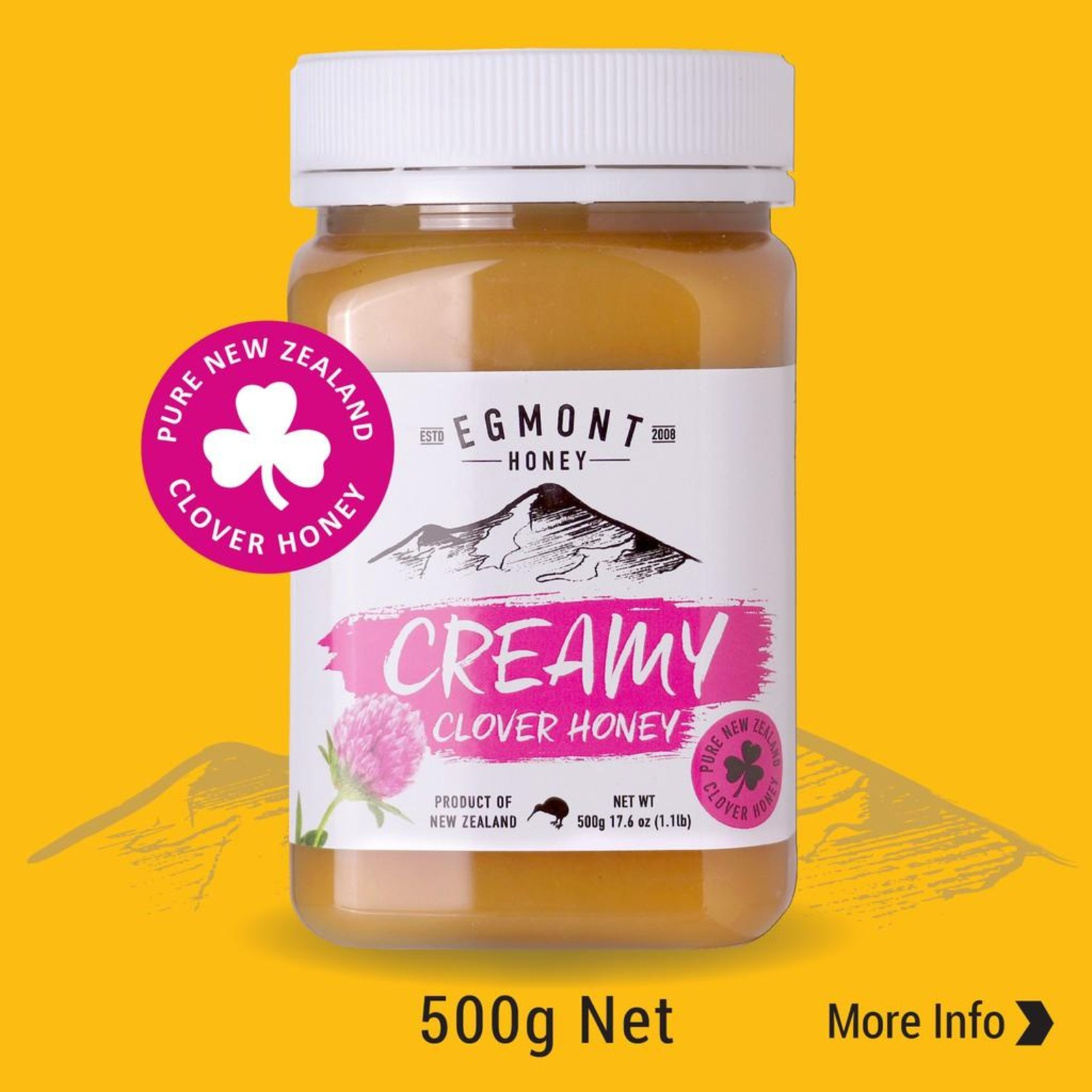 Egmont Creamy Clover Honey