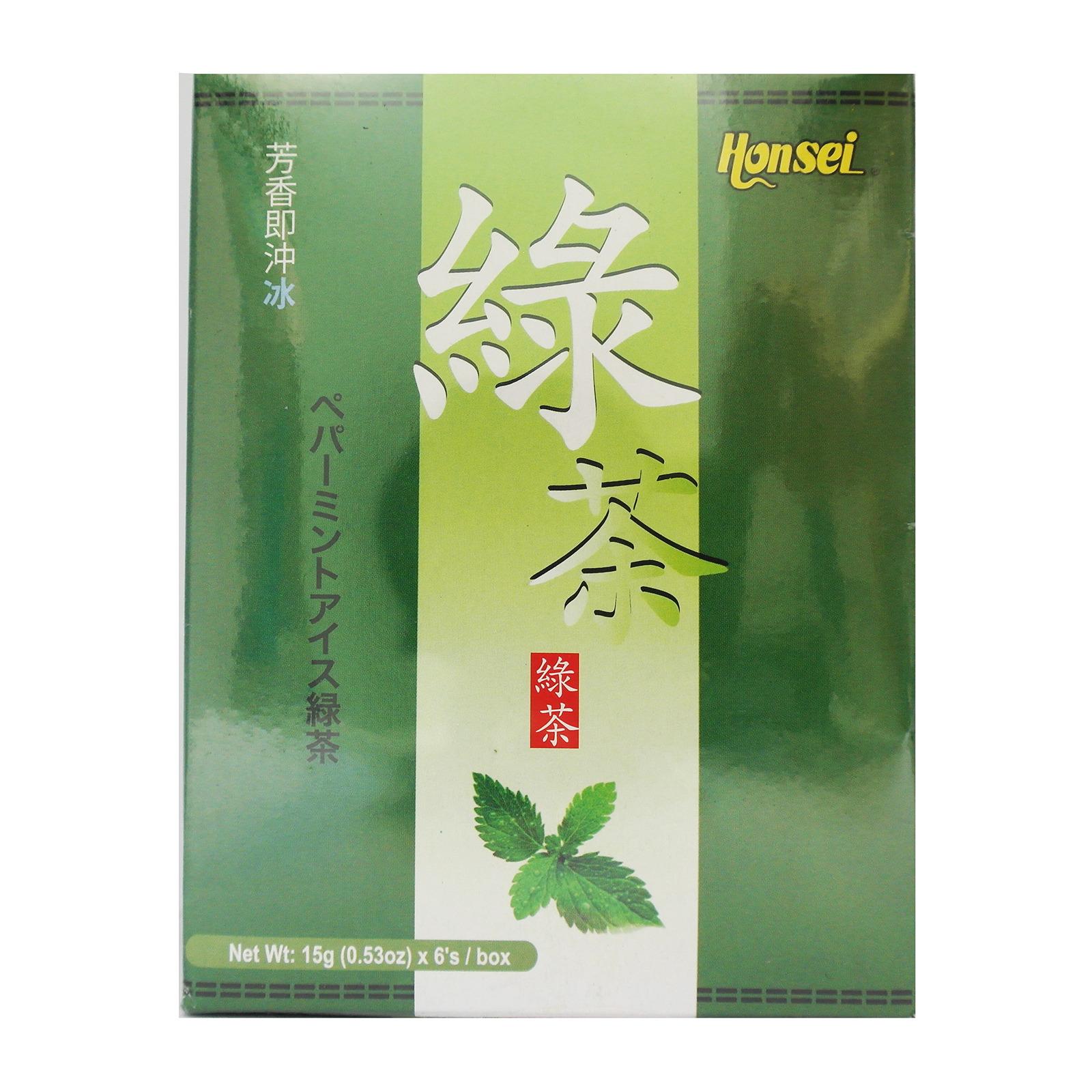 Honsei Ice Green Tea (6 Sachets)
