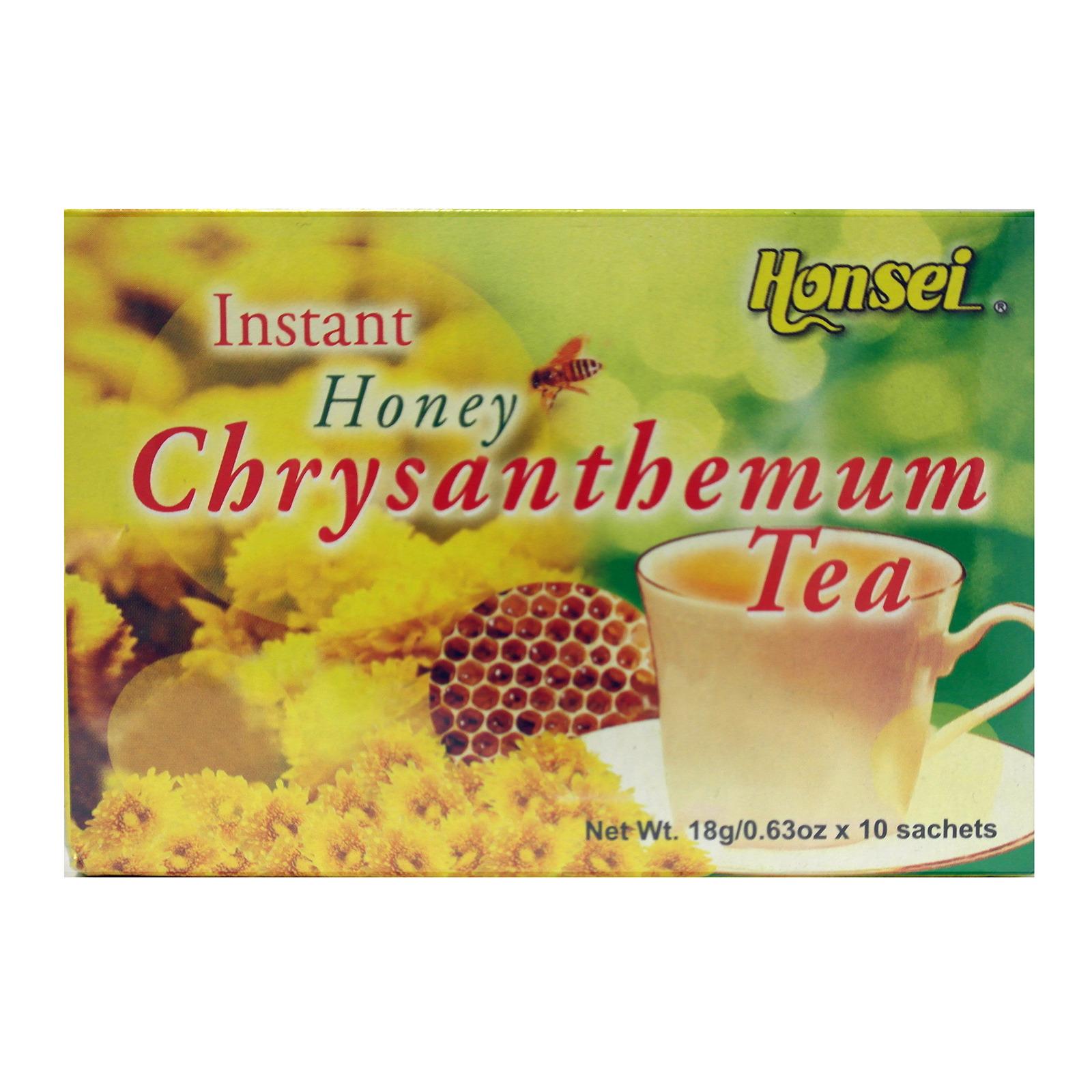 Honsei Honey Chrysanthemum Tea (10 Sachets)