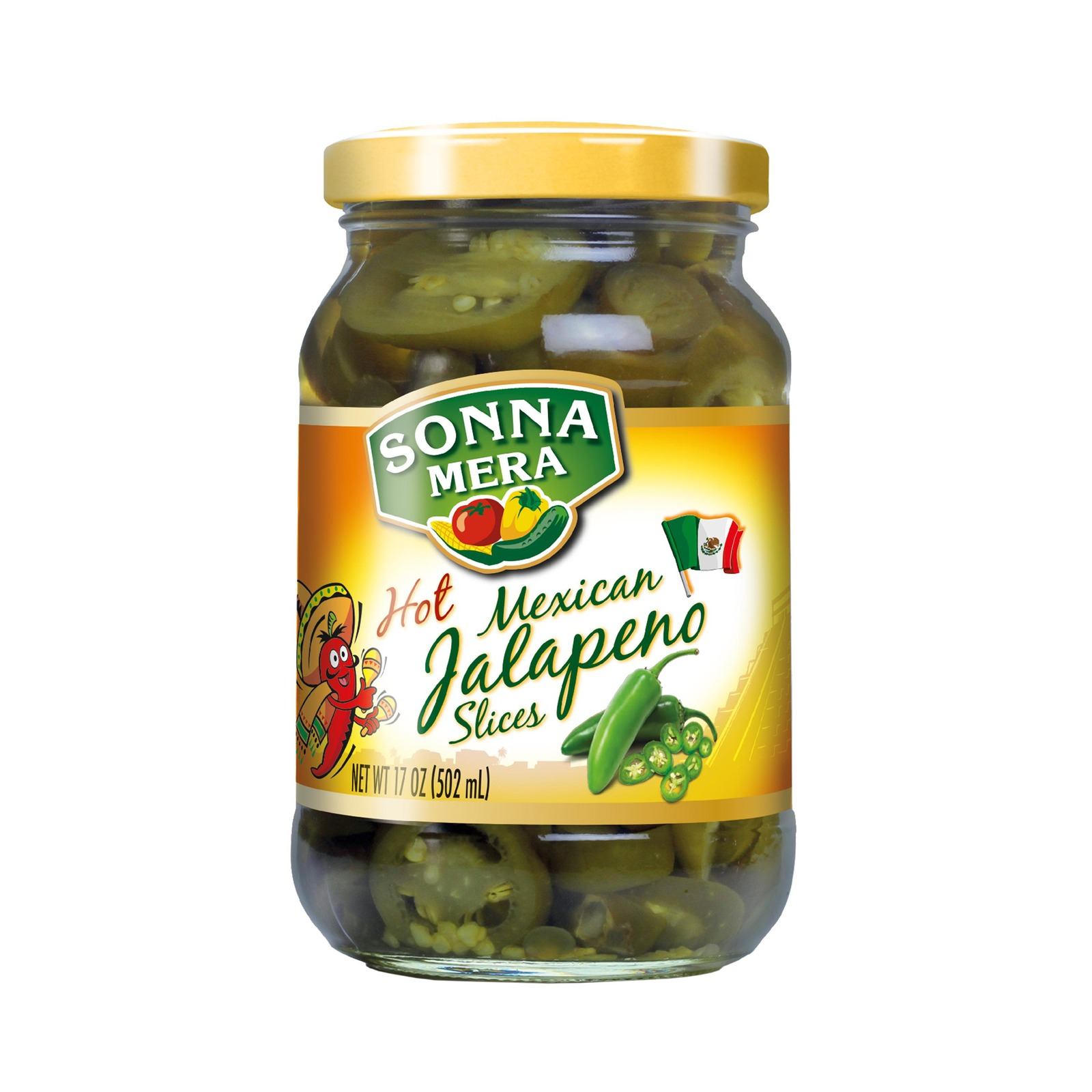 SONNAMERA Hot Mexican Jalapeno - By Sonnamera