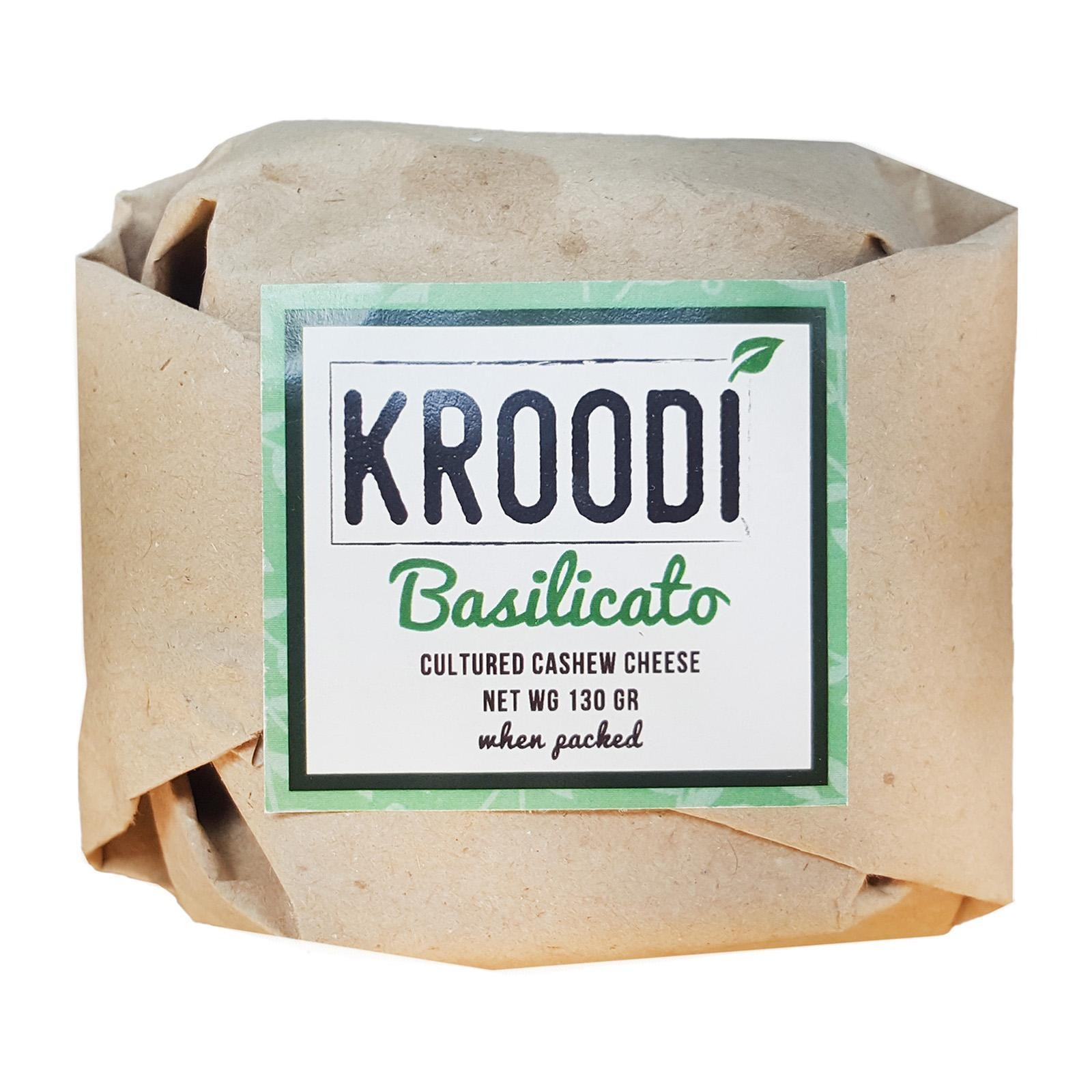 KROODI Vegan Cheese - Basilicato