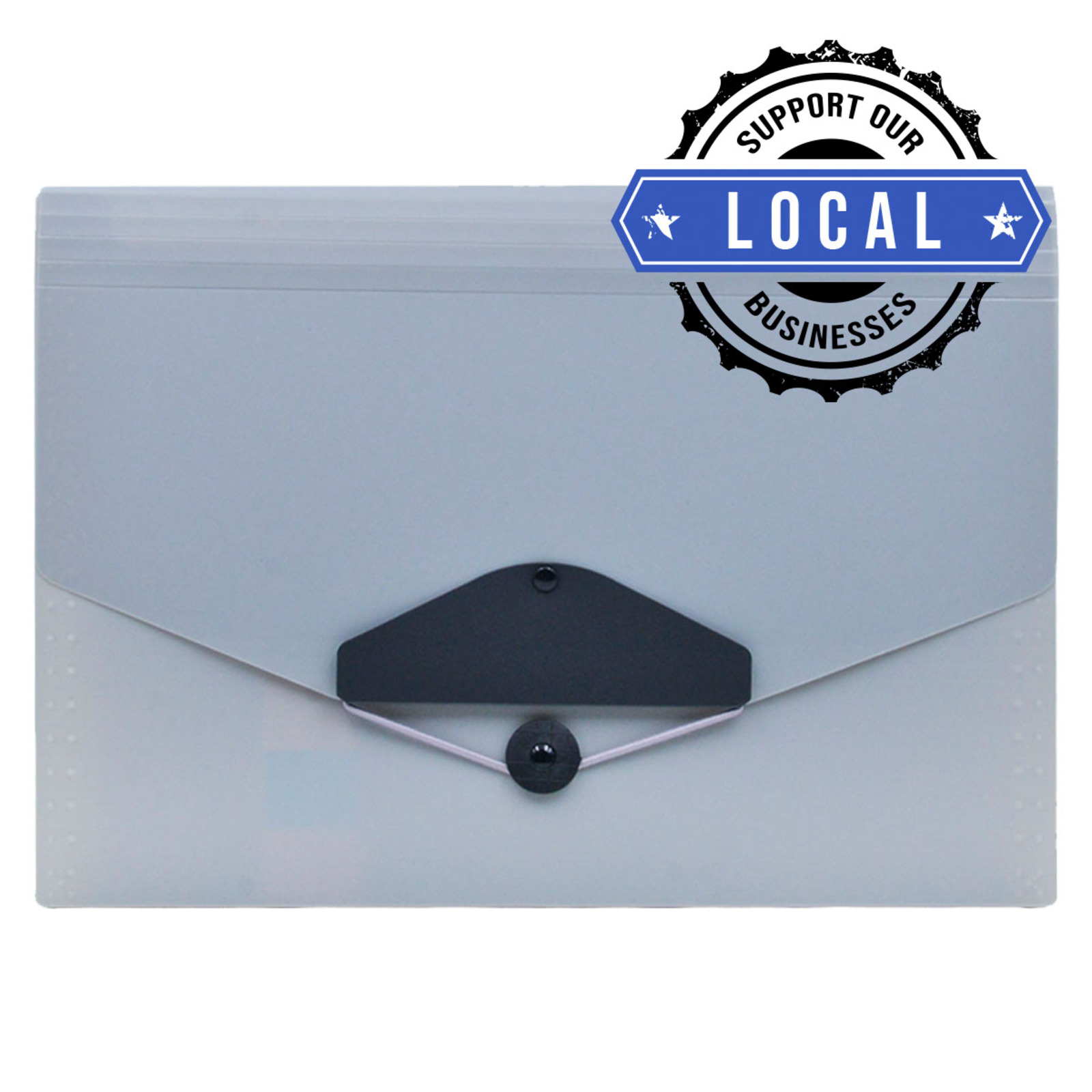 ALFAX 4304 EXPANDING FILE 13 DIVIDERS A4 GREY