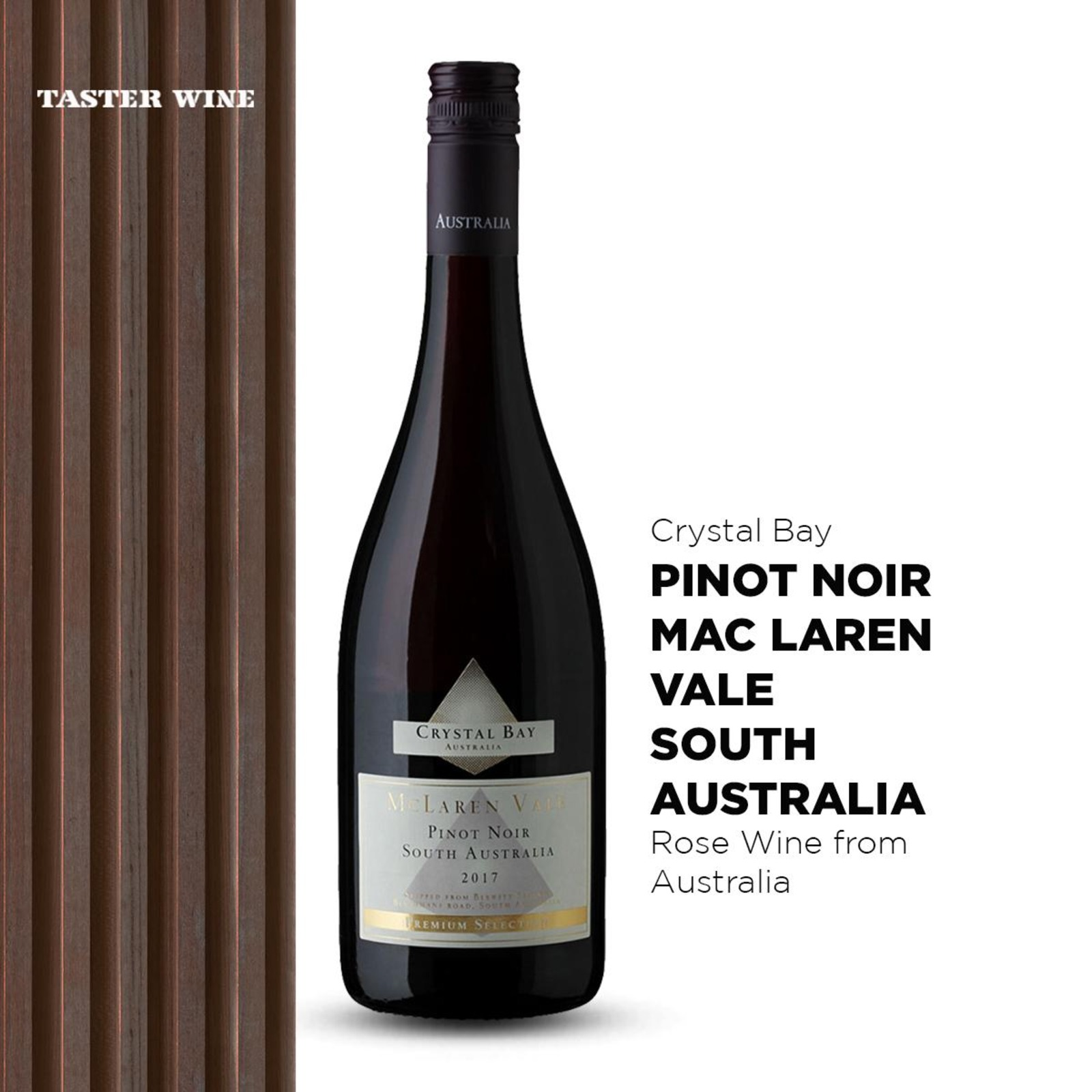 Crystal Bay Pinot Noir - Red Wine