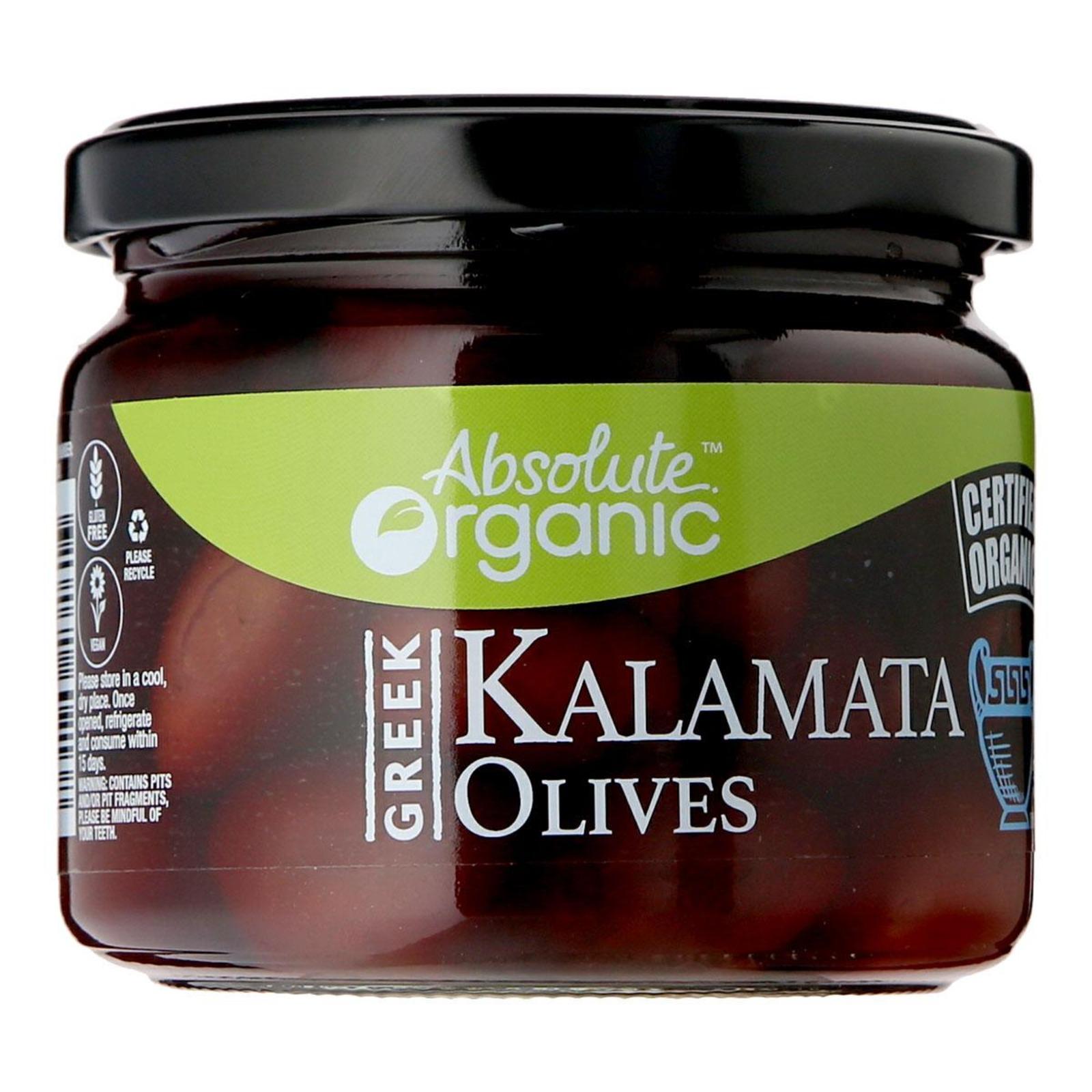Absolute Organic Whole Olives Kalamata