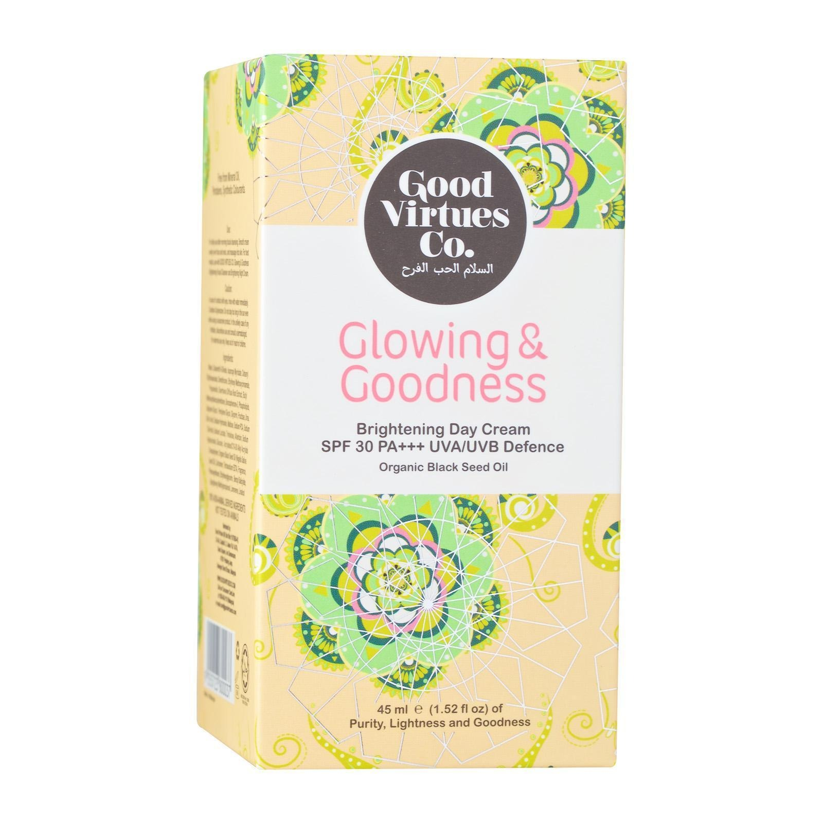 Good Virtues Co. Glowing And Goodness Brightening Day Cream