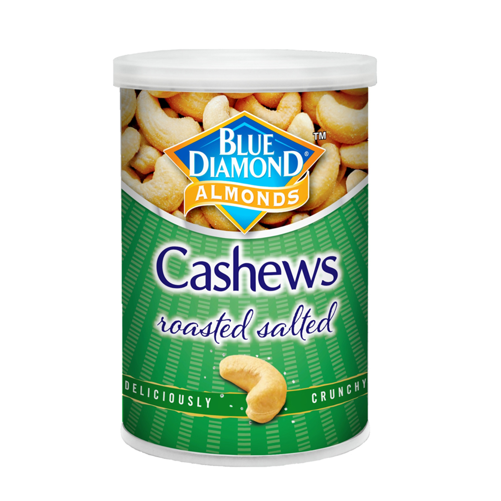 Blue Diamond Roasted Cashews Nut With Salted 130 G