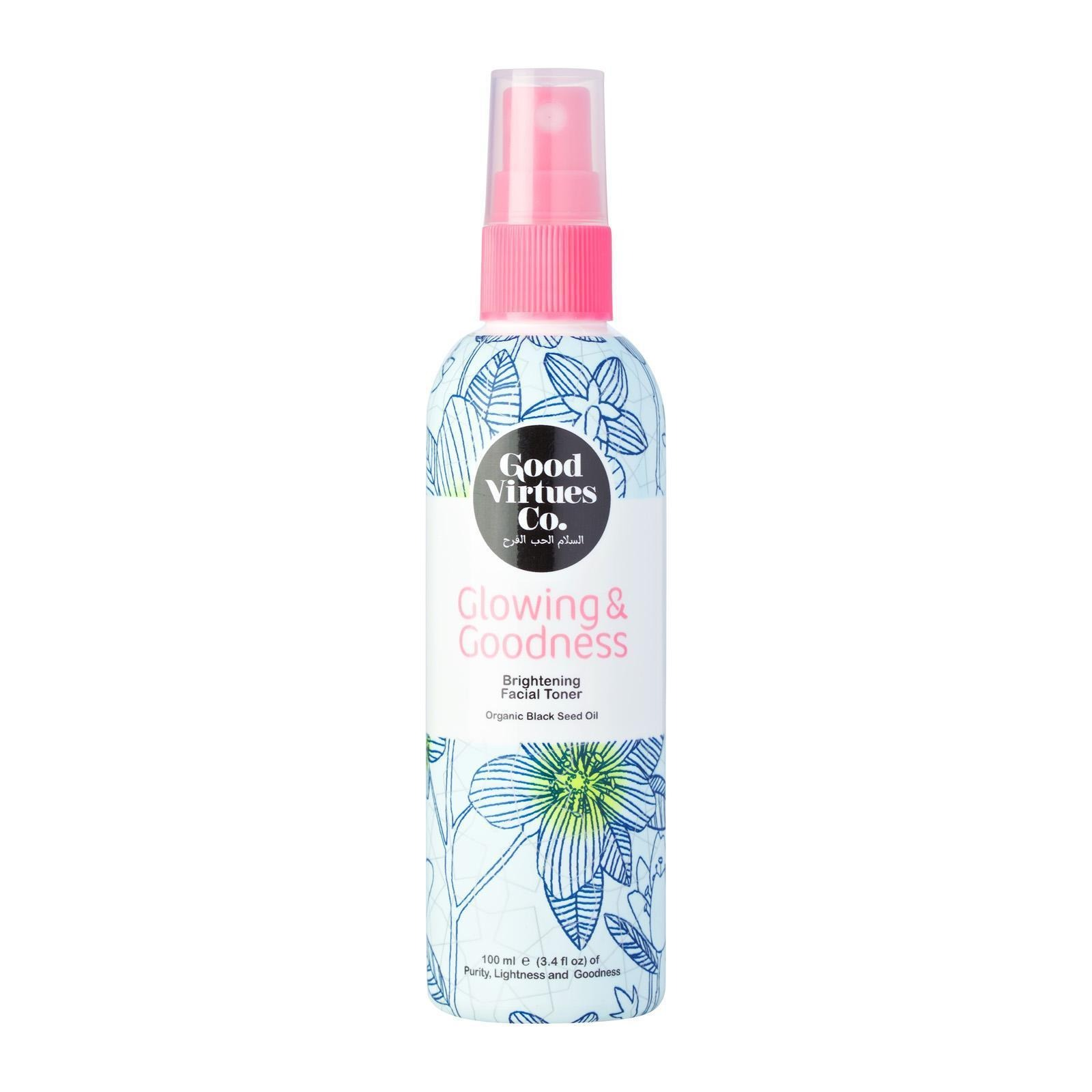 Good Virtues Co. Glowing & Goodness Brightening Facial Toner