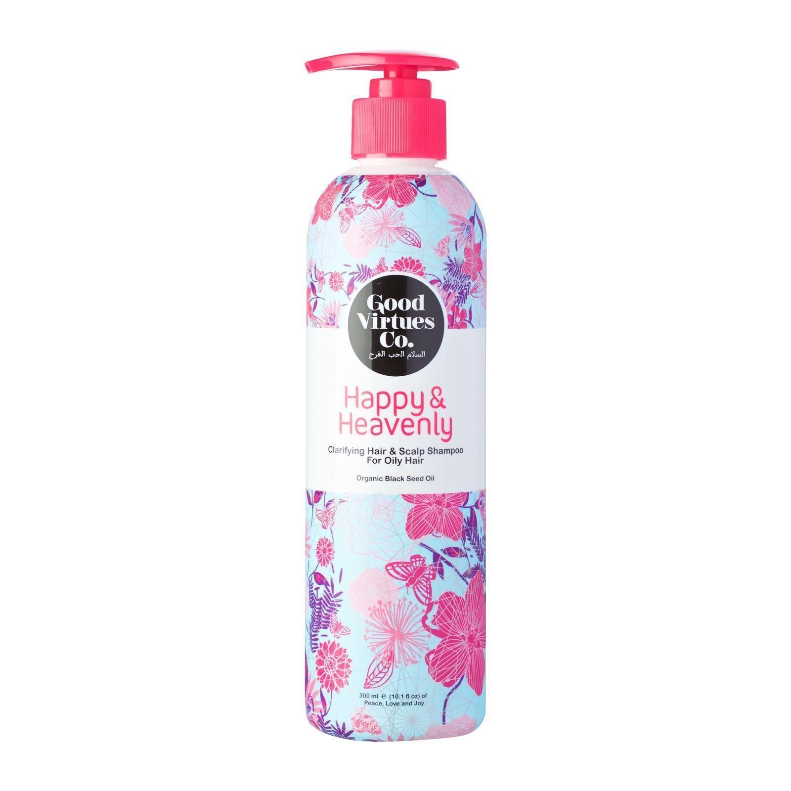 Good Virtues Co. Shampoo - Clarify Hair n Scalp For Oily Hair