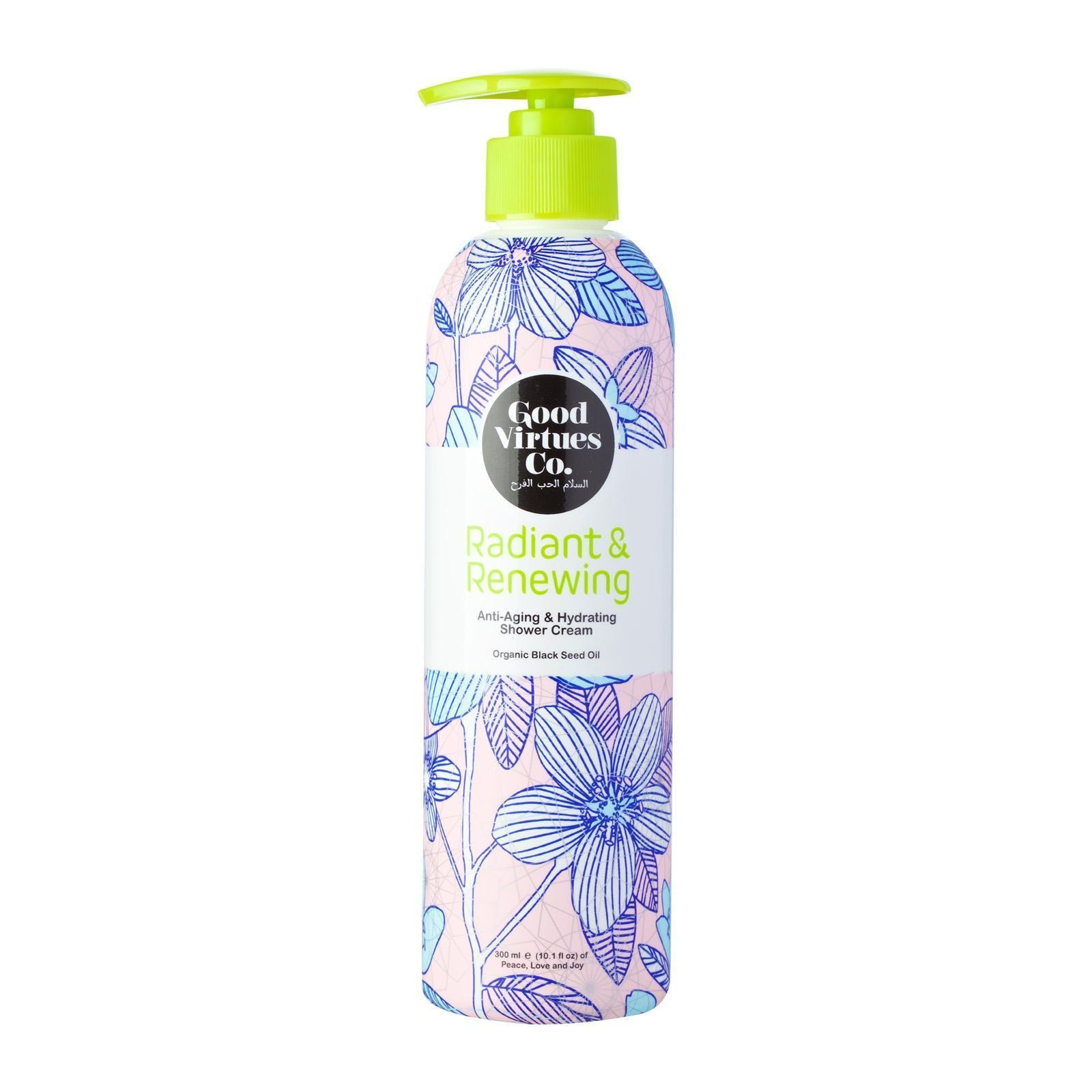 Good Virtues Co. Radiant & Renewing Anti-Aging & Hydrating Shower