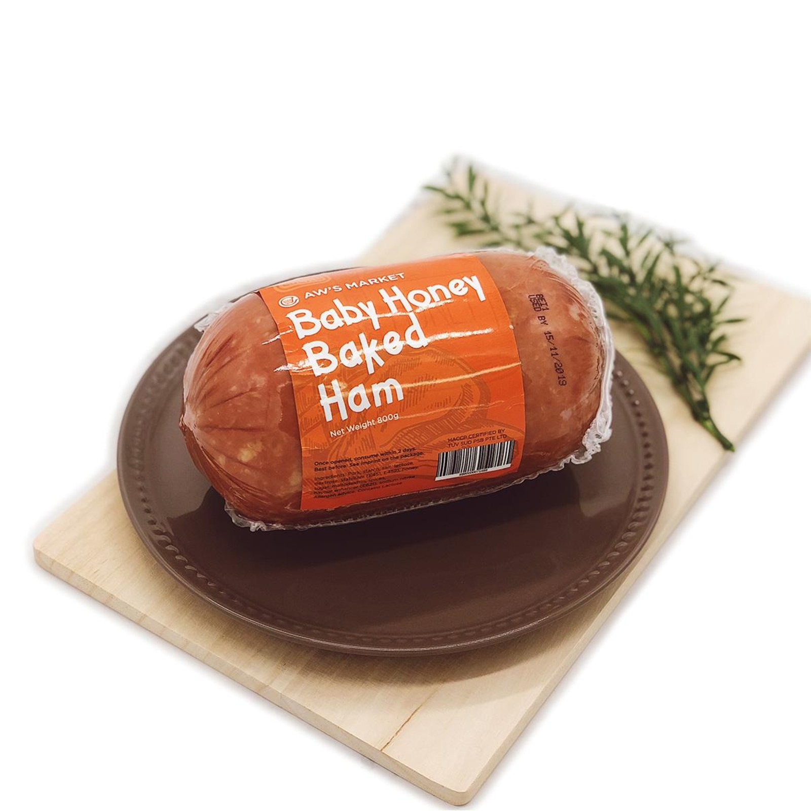 AW'S Market Baby Honey Baked Ham (Whole)