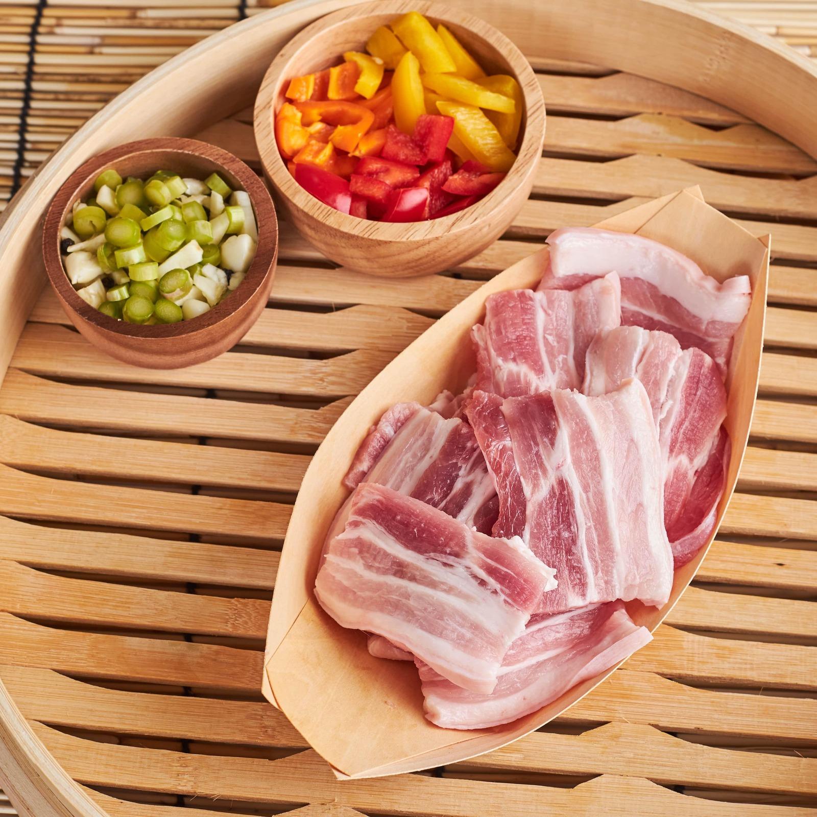 Aw's Market Pork Belly Sliced