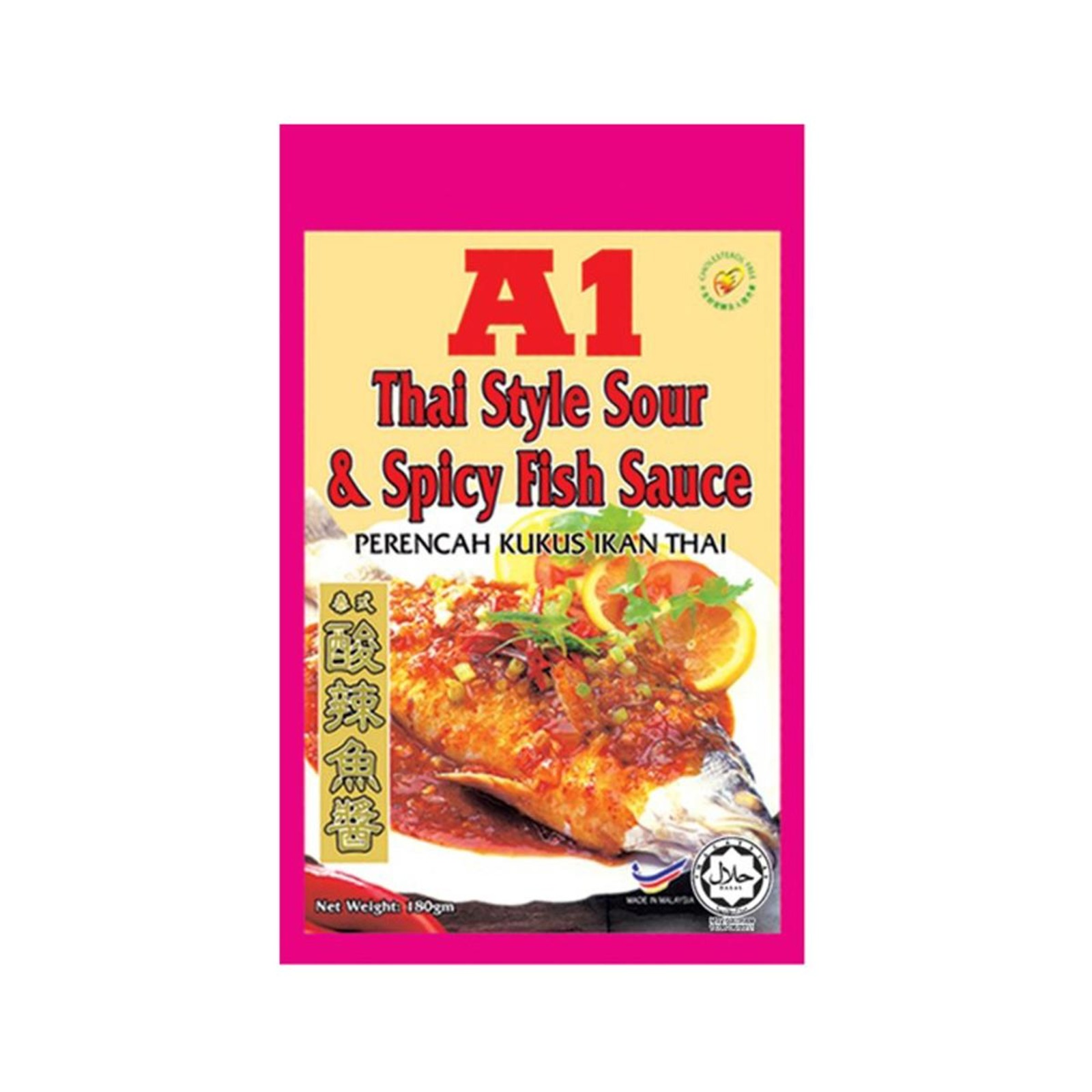 A1 Thai Style Sour And Spicy Fish Sauce