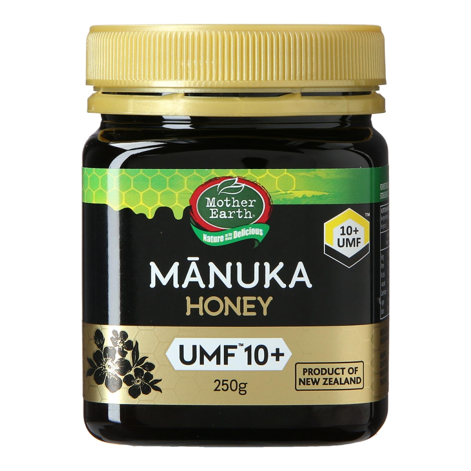 Mother Earth Manuka Honey from New Zealand UMF10+