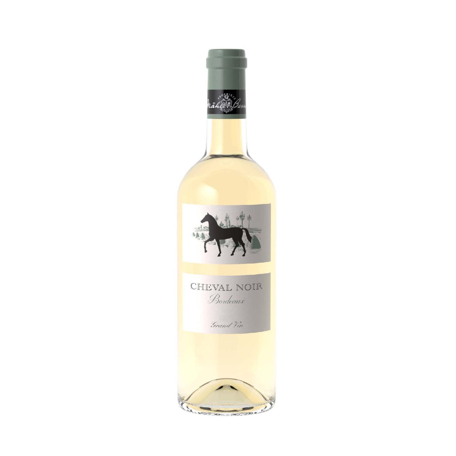 Cheval Noir Bordeaux Blanc