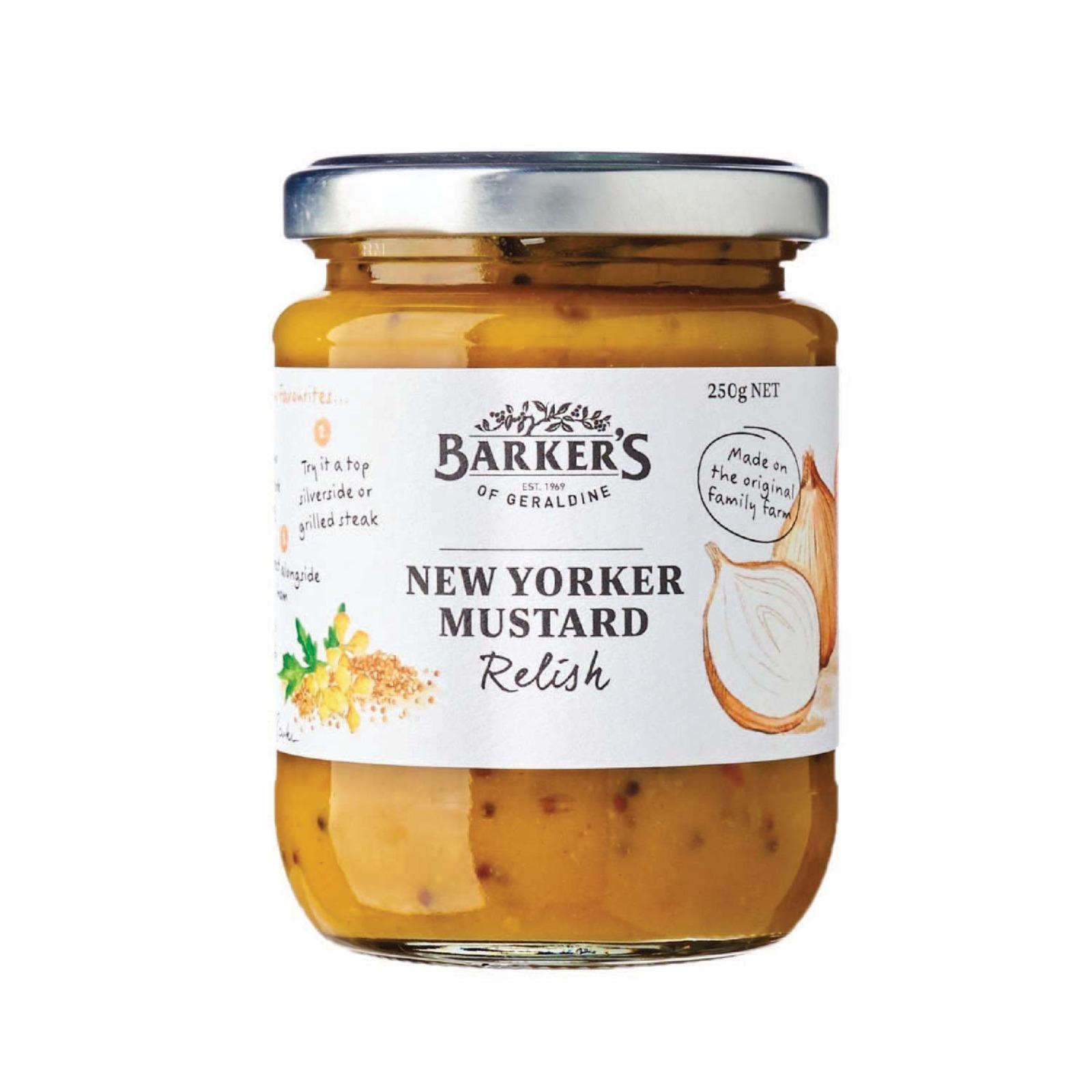 Baker's Of Geraldine New Yorker Mustard Relish