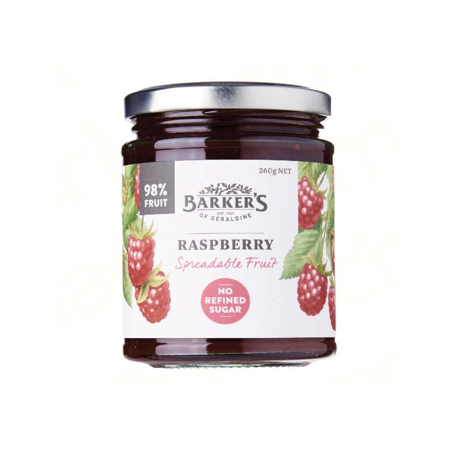 Baker's Of Geraldine Raspberry Spreadable Fruit