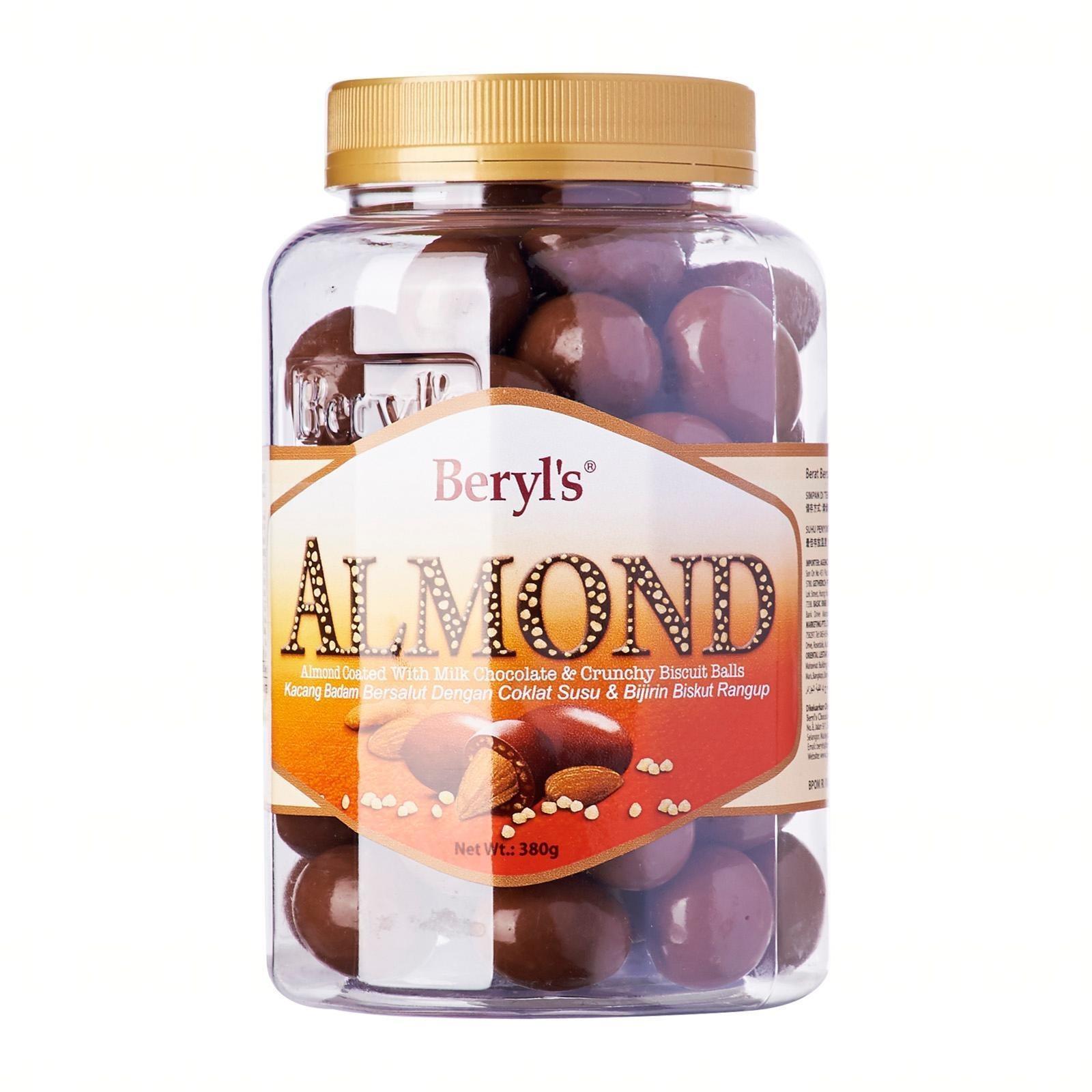 Beryl's Milk Chocolate Jar - Almond