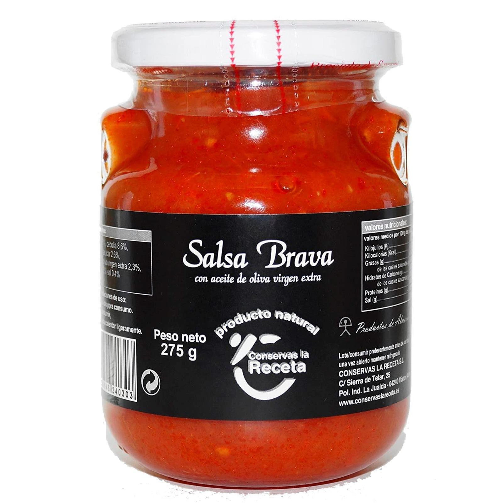 La Receta Salsa Brava