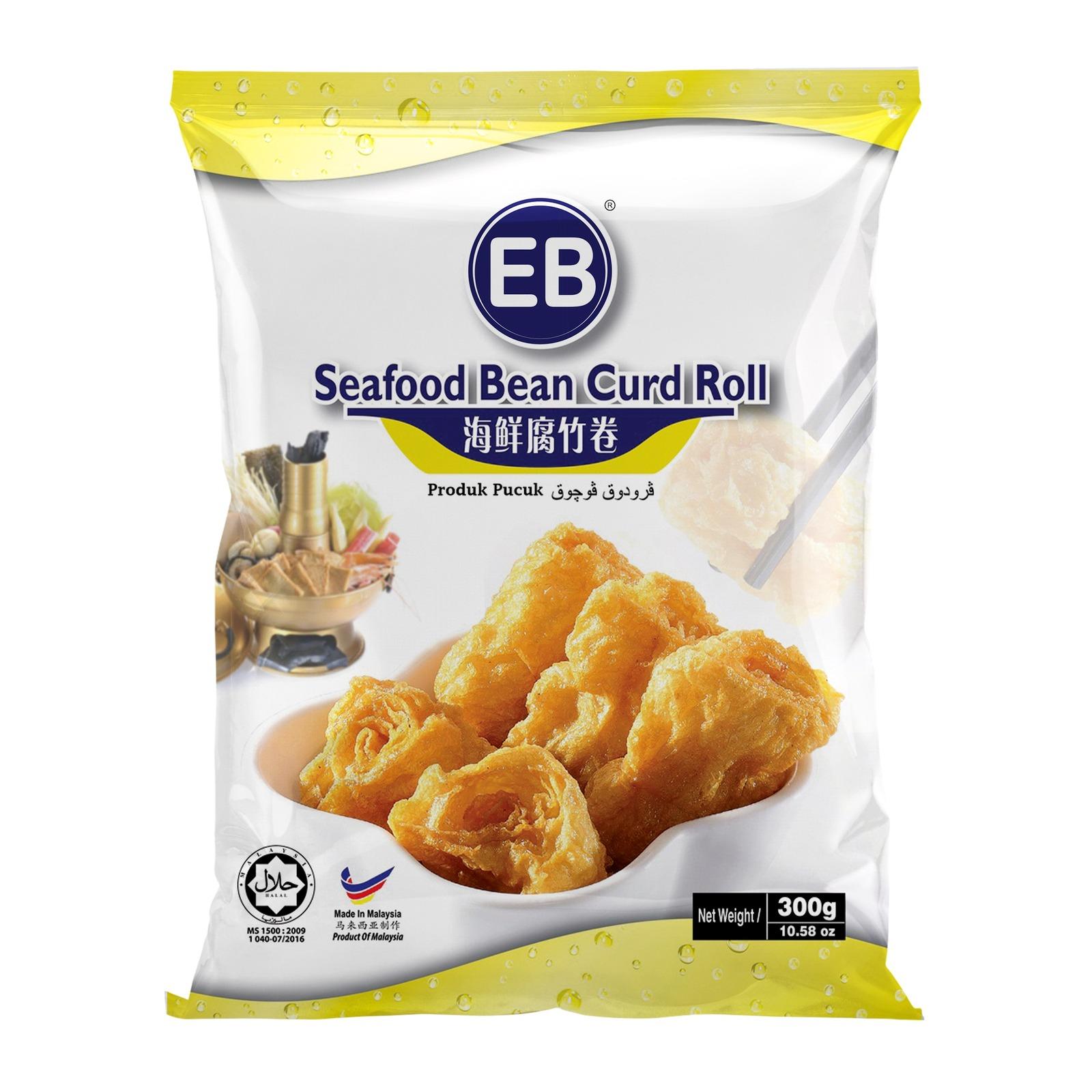 EB Frozen Fish Beancurd Roll 300g