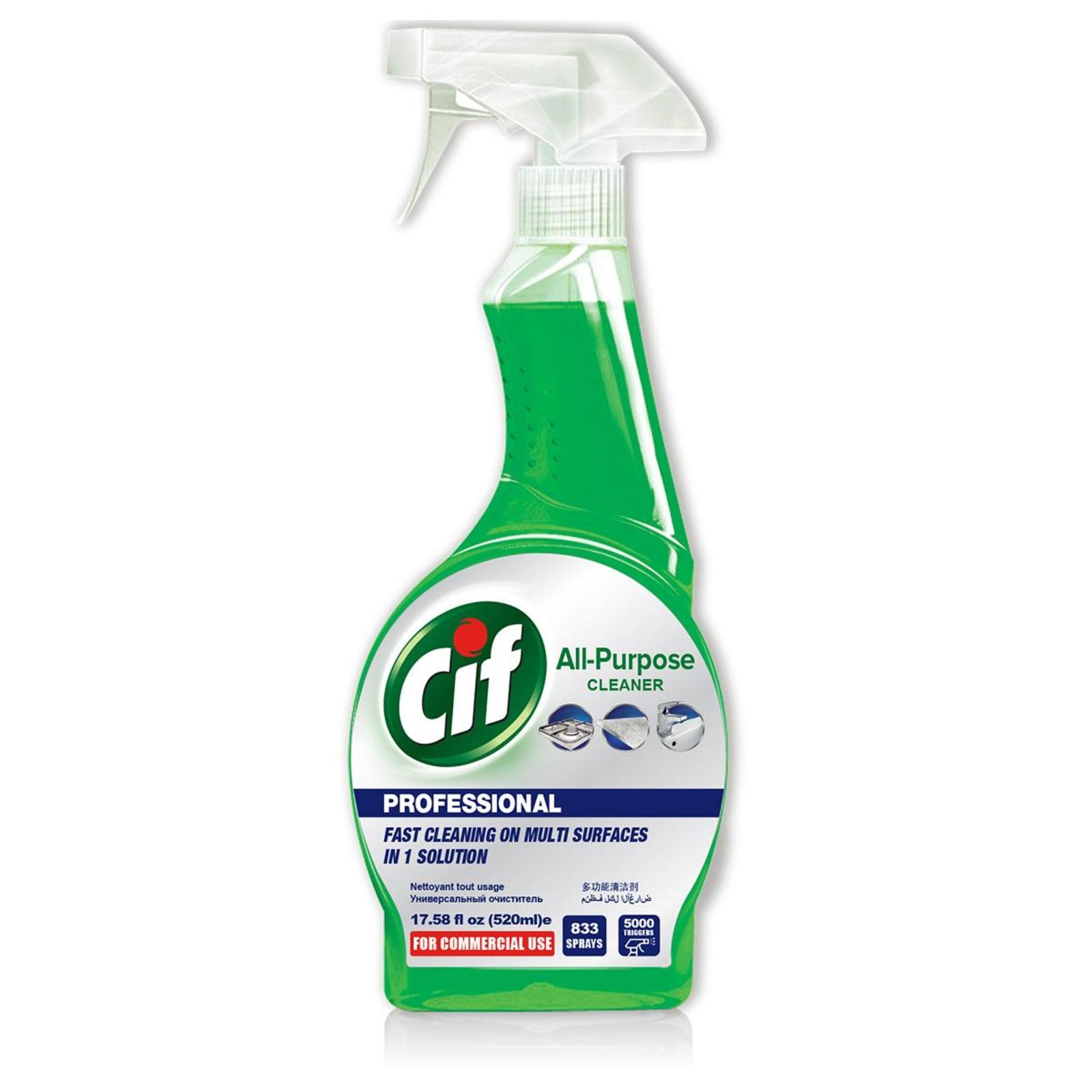 UNILEVER UL-APC-520ML CIF PRO ANTI-BAC ALL-PURPOSE CLEANER
