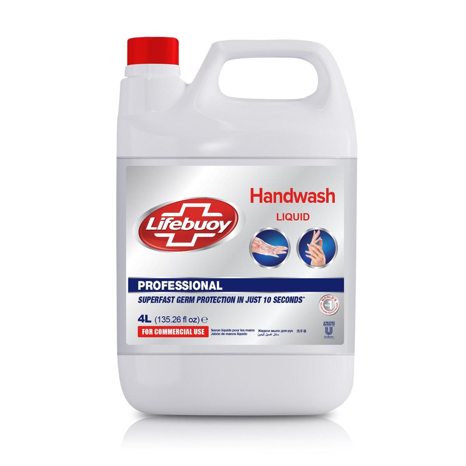UNILEVER UL-LB-HANDWASH-4L LIFEBUOY PRO HAND WASH