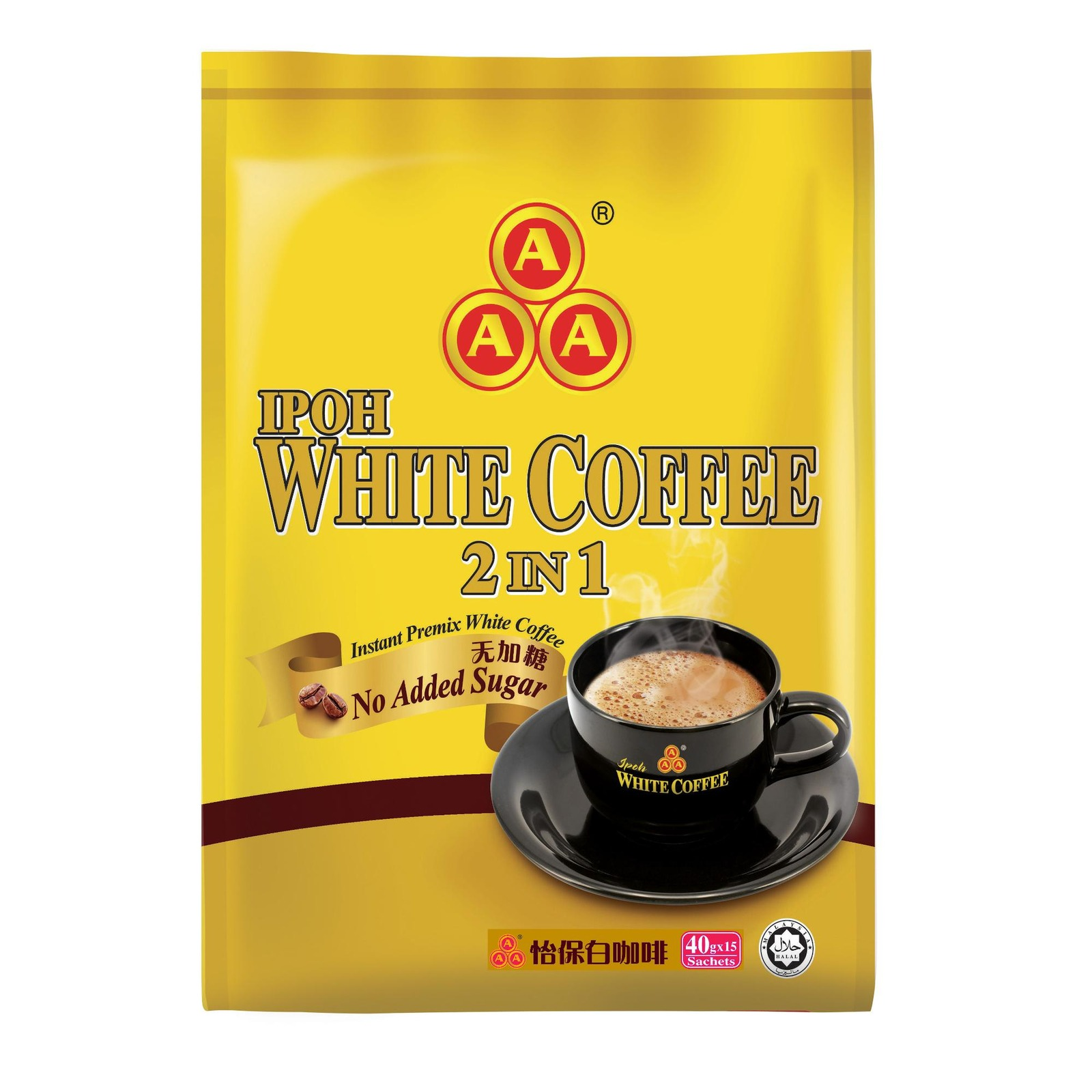 AAA IPOH WHITE COFFEE 2IN1 (NO SGR)