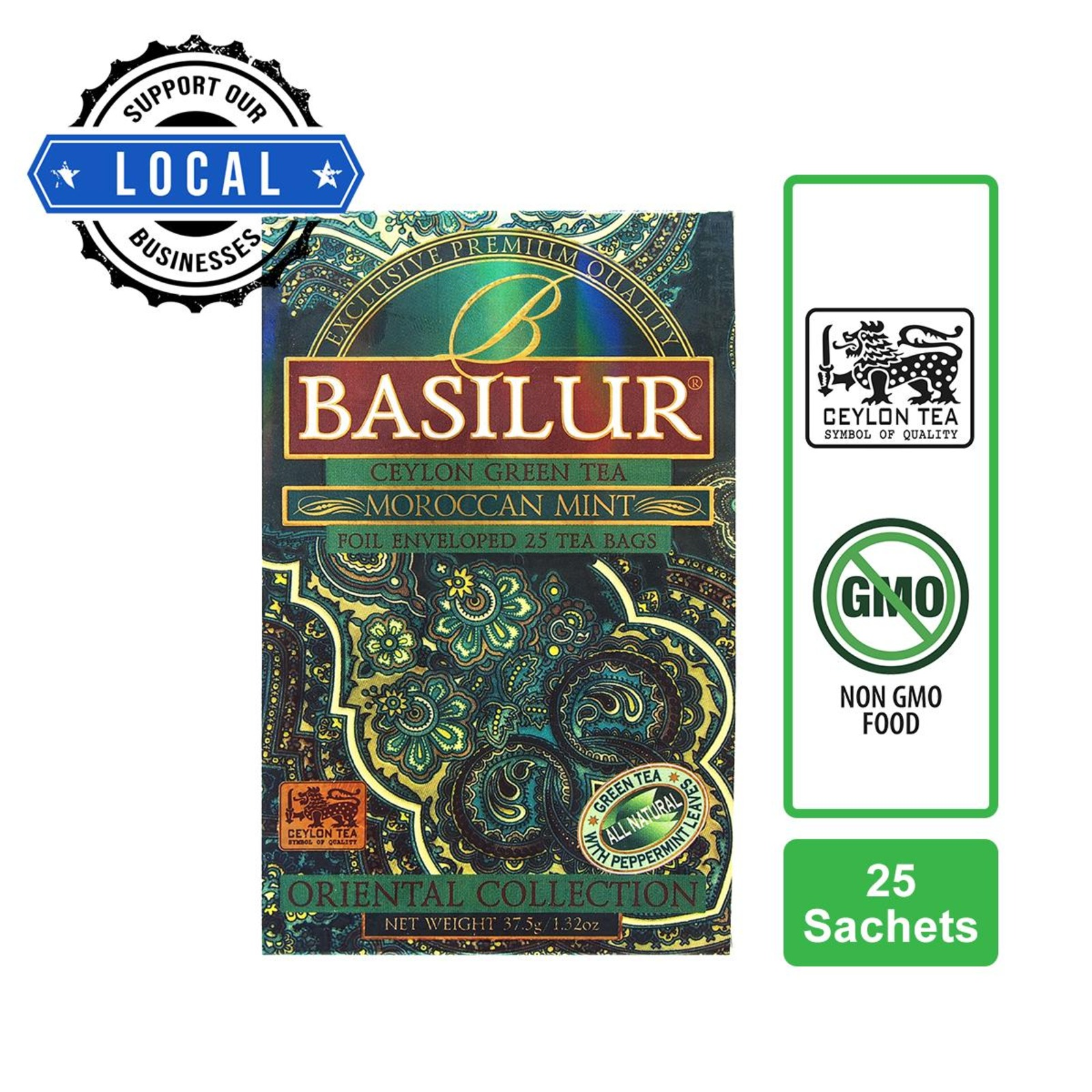 Basilur Moroccan Mint Green Tea