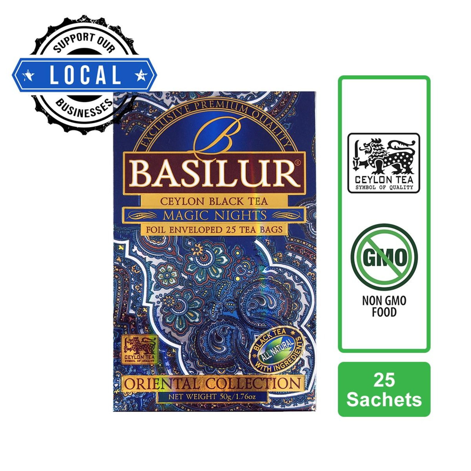 Basilur Magic Nights Strawberry Apricot & Papapya Black Tea