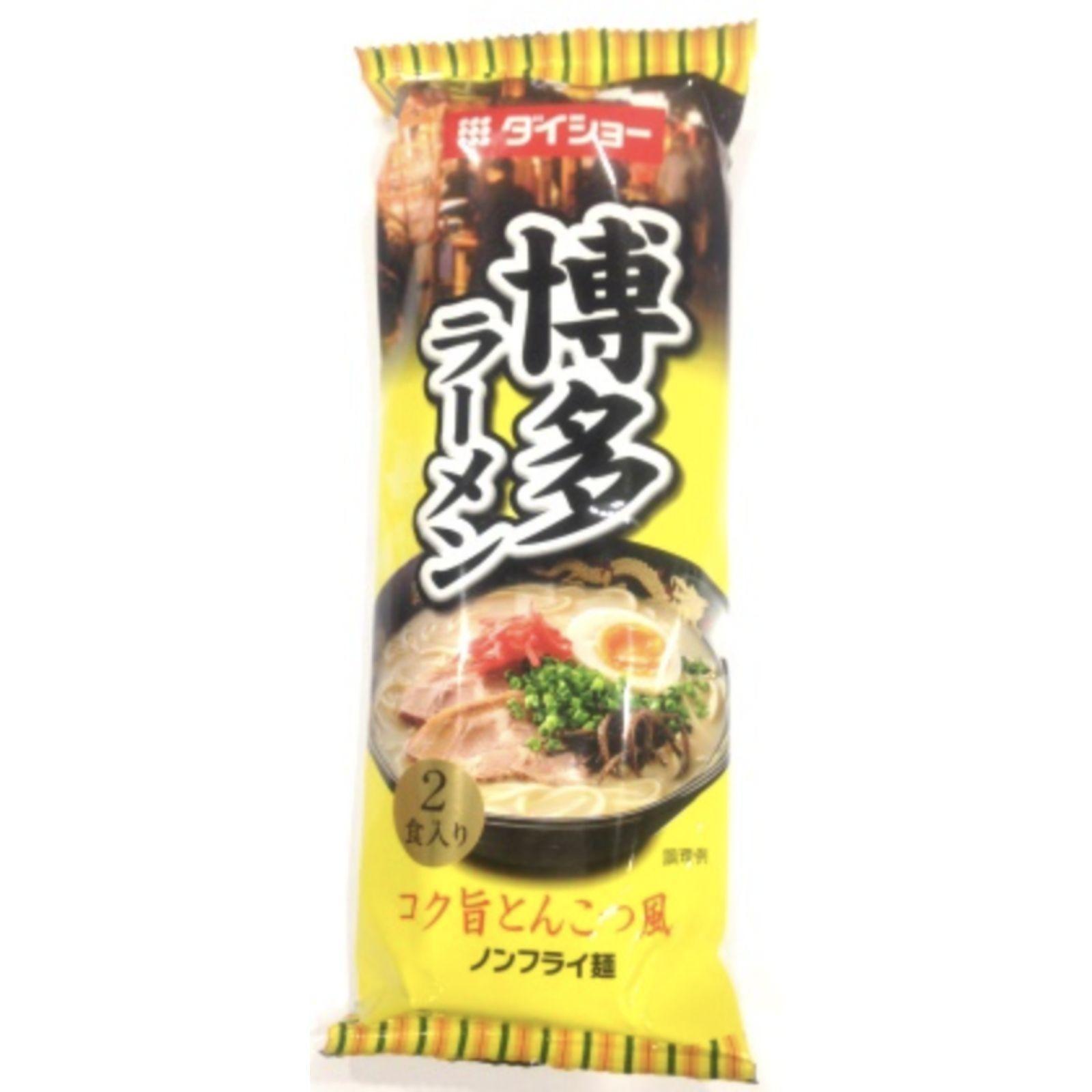 Daisho HAKATA Japan Tonkotsu Ramen Noodle (2 Servings) 188g