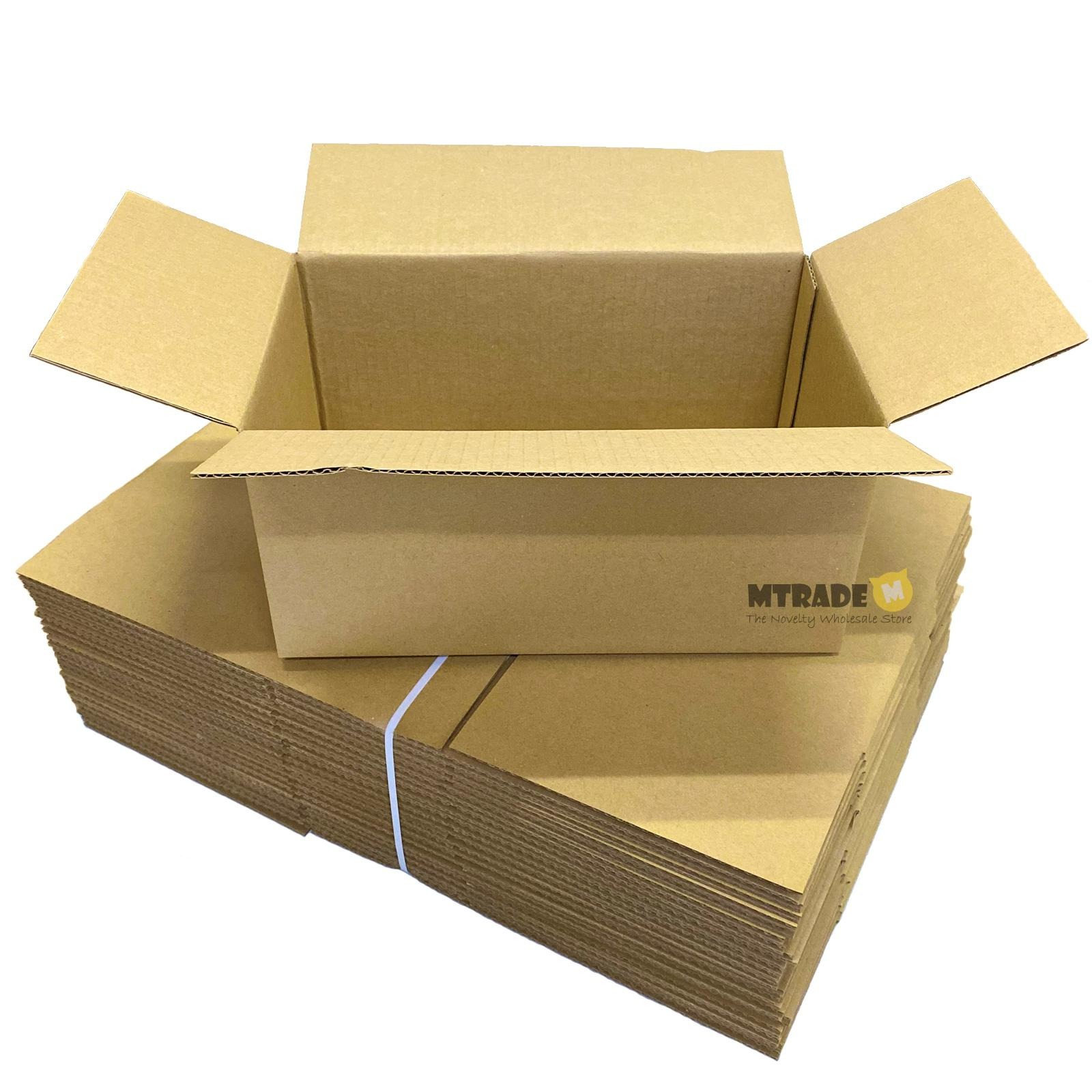 MTRADE Single Wall Carton Boxes (30.5 x 19 x 14.5cm)