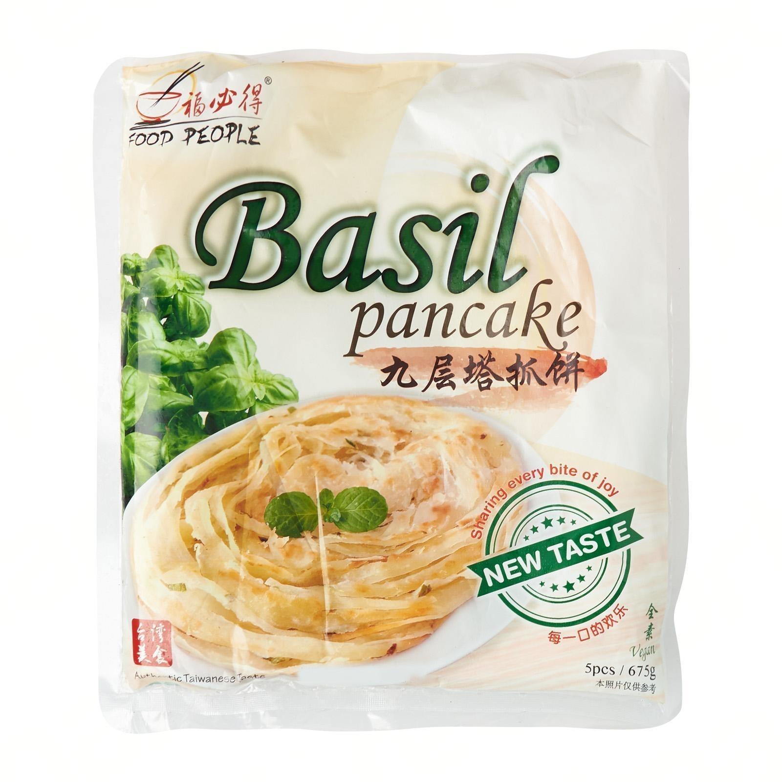 Food People Pancake - Handmade Basil Pancake
