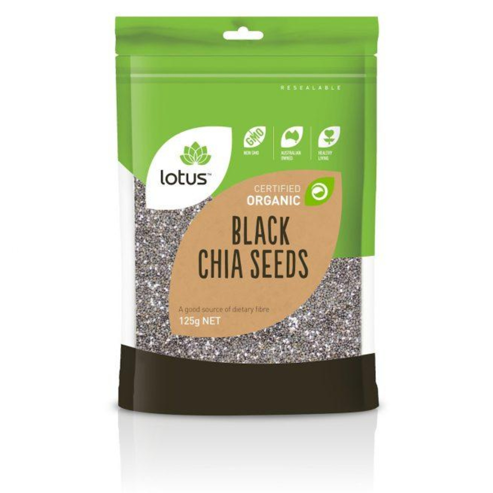 Lotus Organic Black Chia Seeds