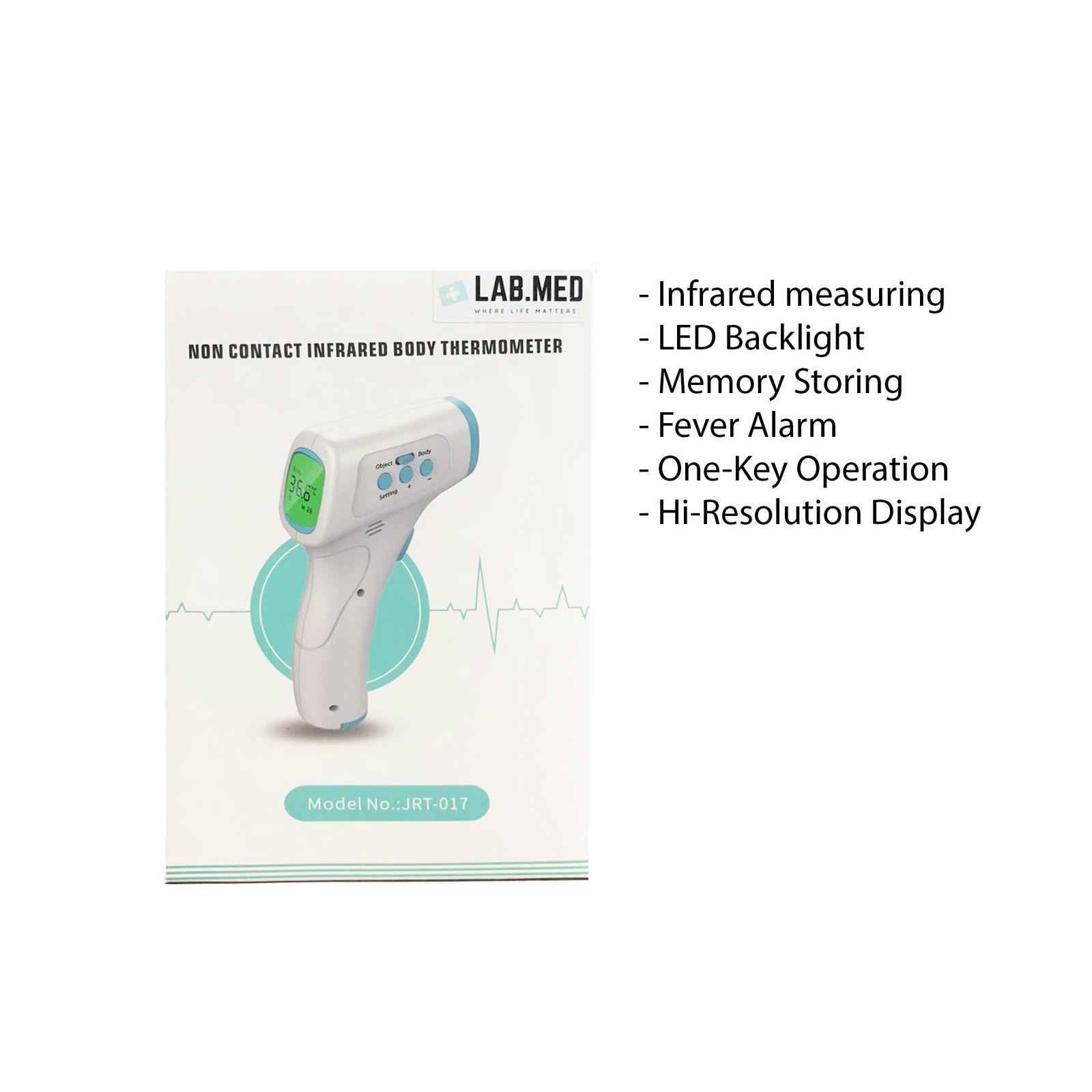 Lab Med Infrared Thermometer