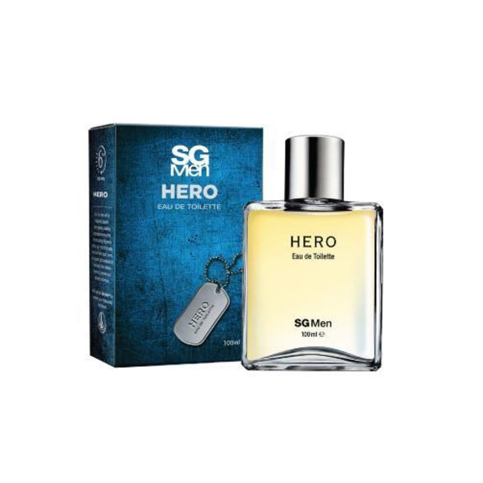 SilkyGirl Body Perfume - SG Men Hero Eau De Toilette
