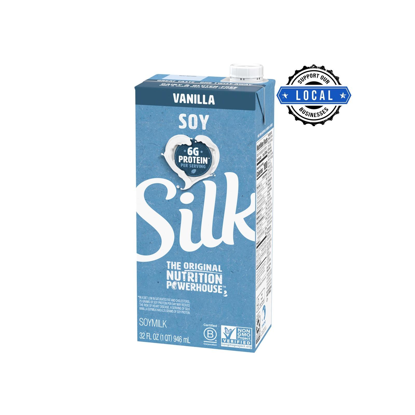 Silk Soymilk - Vanilla