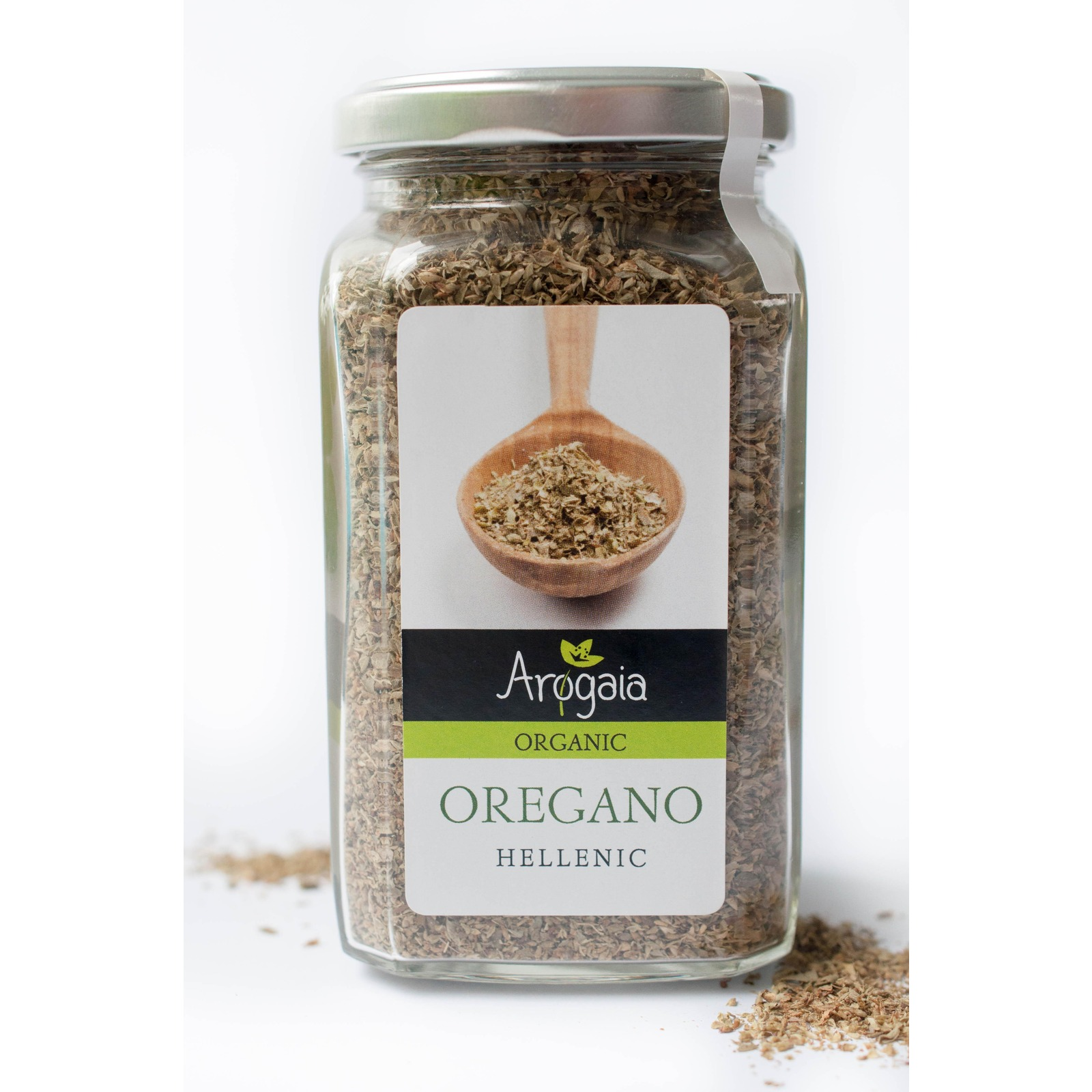 Arogaia Greek Organic Oregano Jar