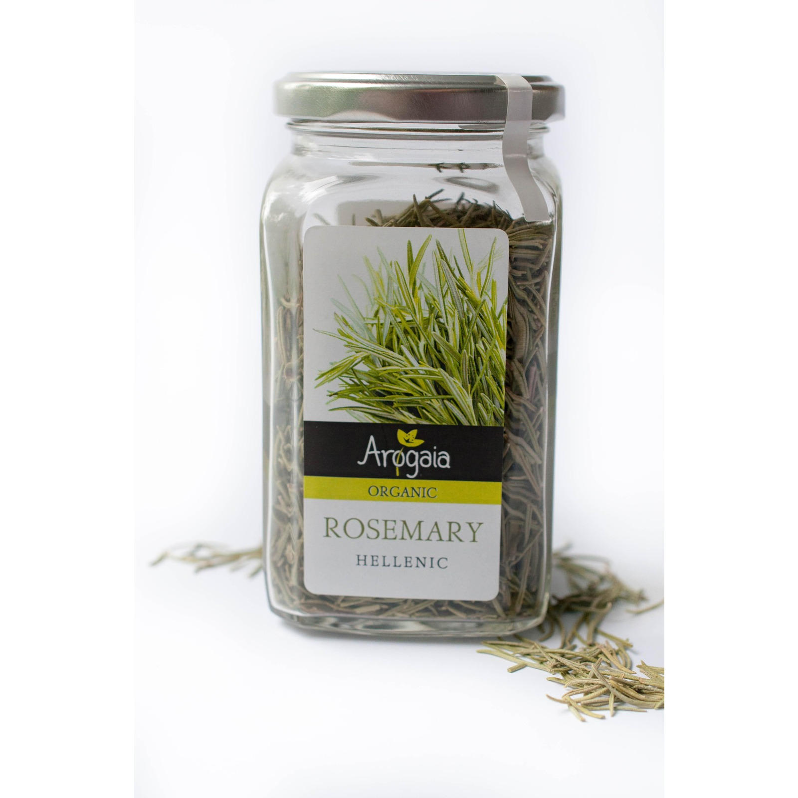 Arogaia Organic Greek Rosemary In A Glass Jar - By Agora Products