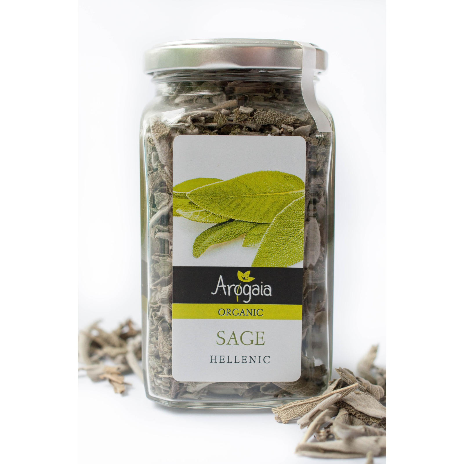 Arogaia Greek Organic Sage Jar