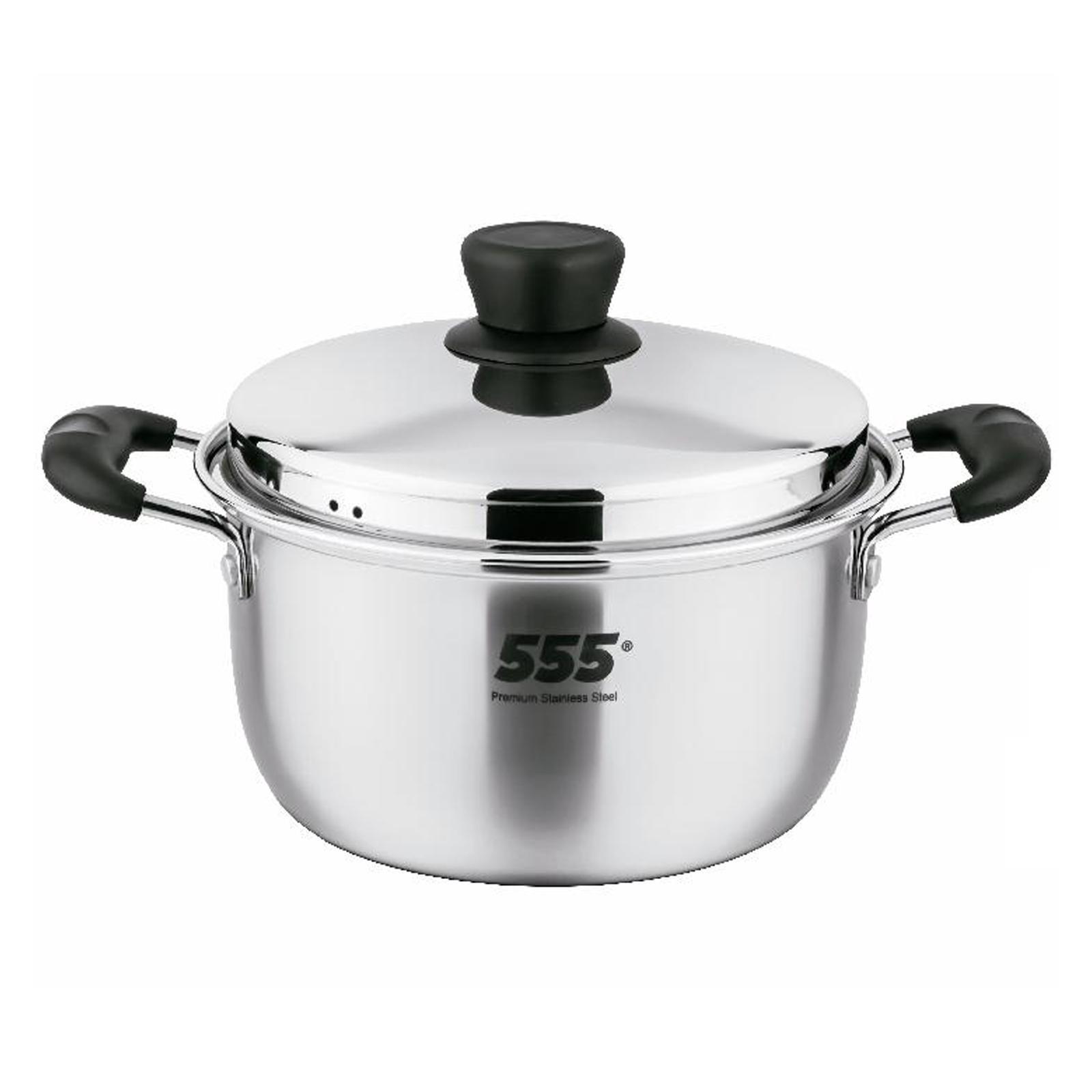 555 Premium Stainless Steel Saucepot 4.3L
