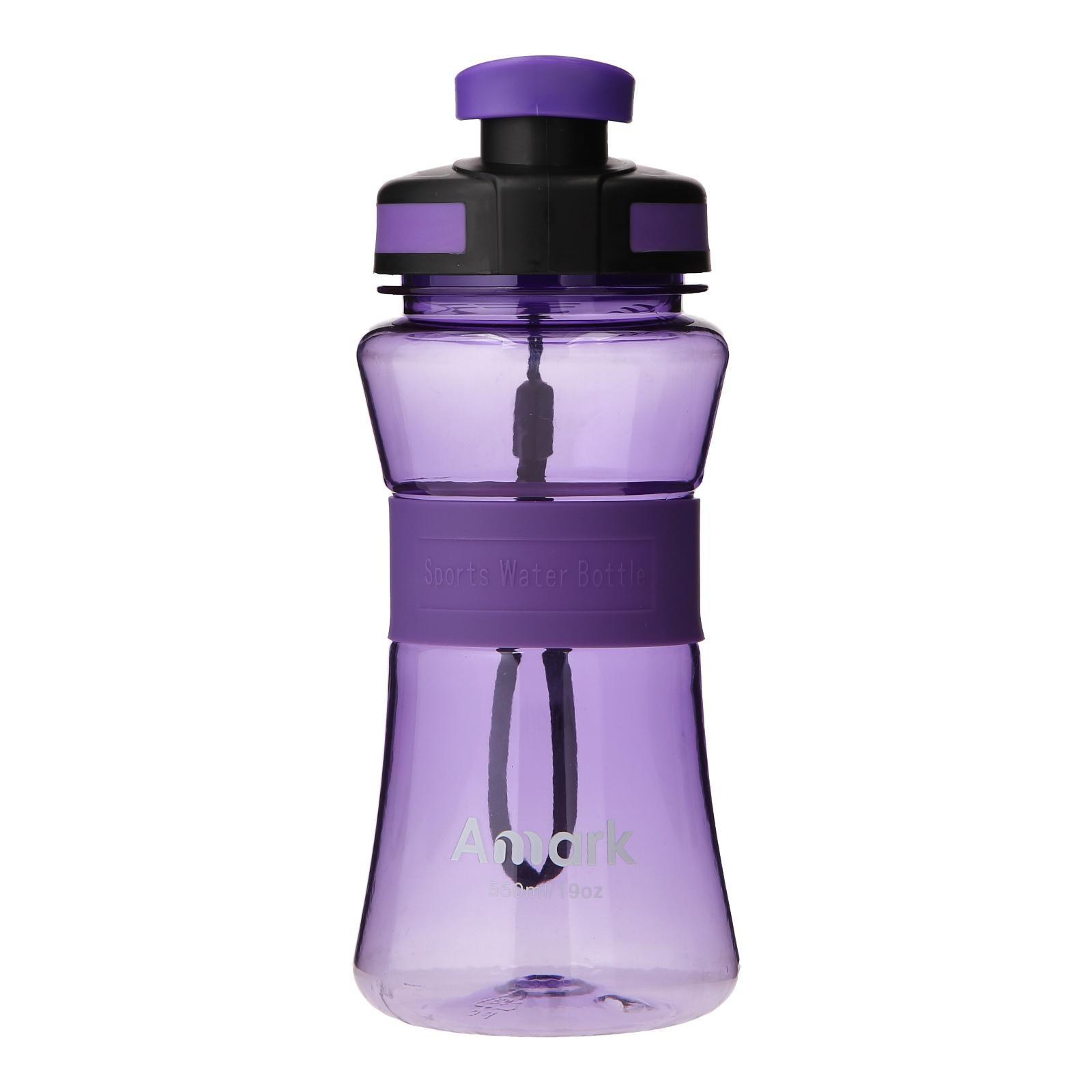 Amark Sporty Plastic Water Bottle 550ml