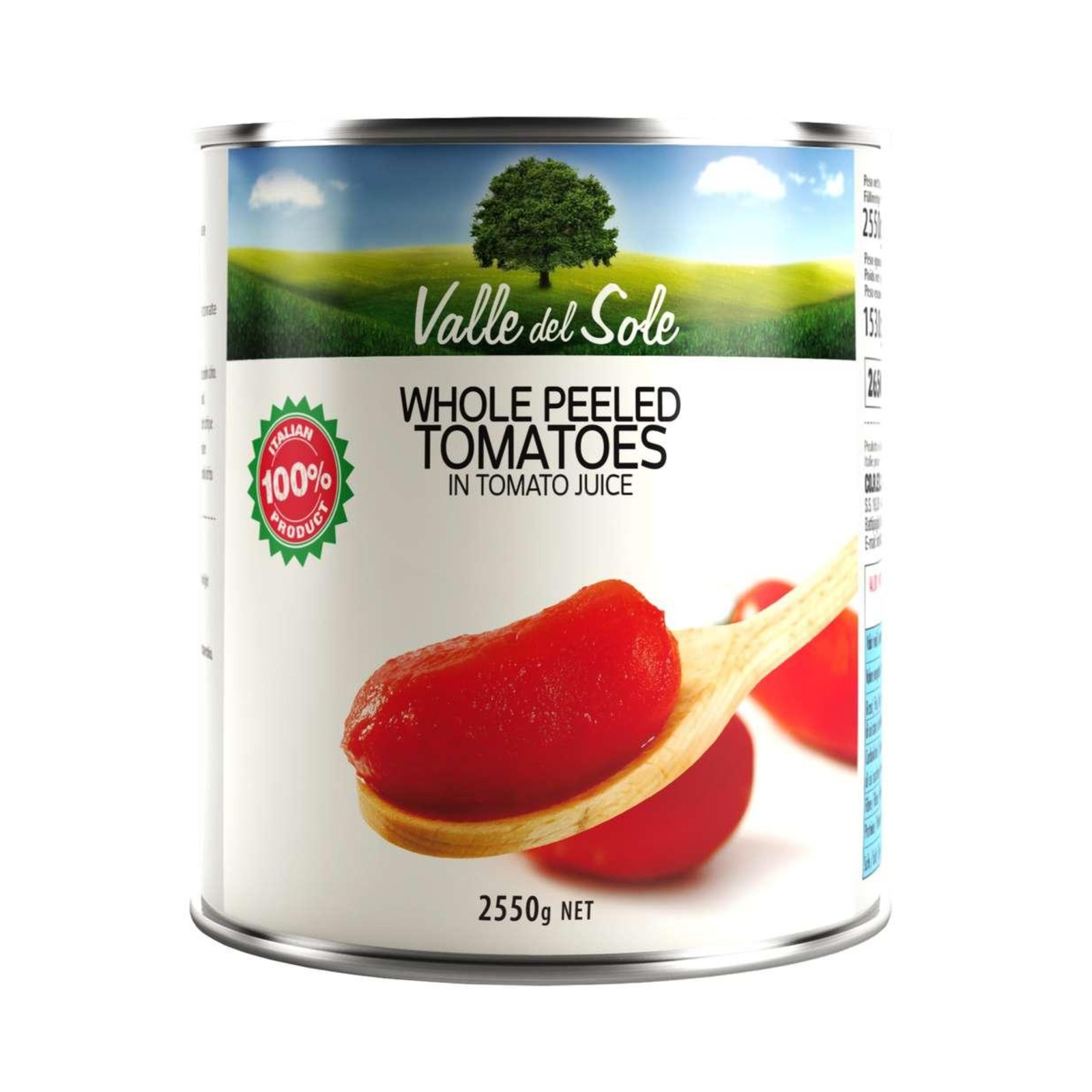 Valle Del Sole Peeled Tomatoes