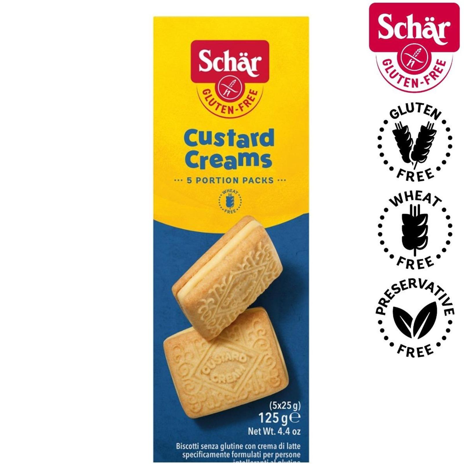 Dr. Schar Custard Cream Cookies - Gluten Free