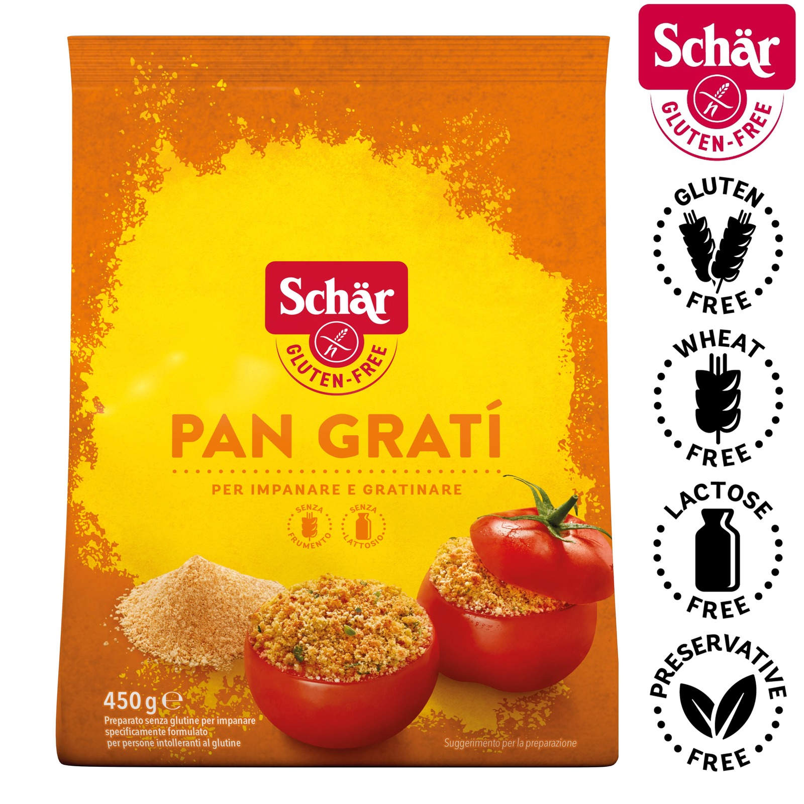 Dr. Schar Pan Grati, Breadcrumbs - Gluten Free