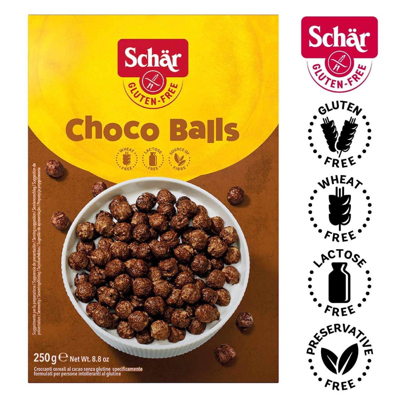 Dr. Schar Milly Magic Cacao Cereal- Gluten Free