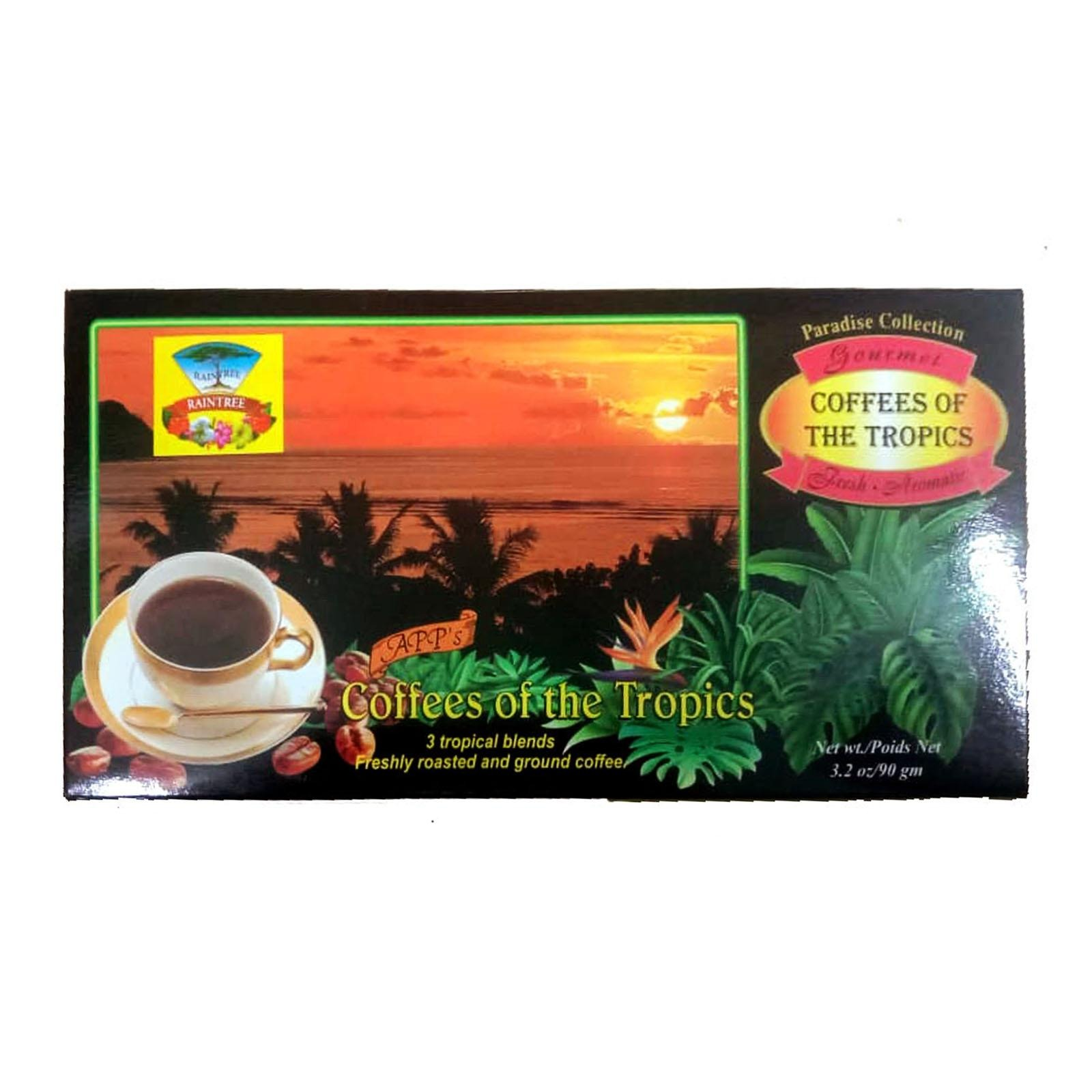 Raintree Coffees Of The Tropics (Paradise Collection)